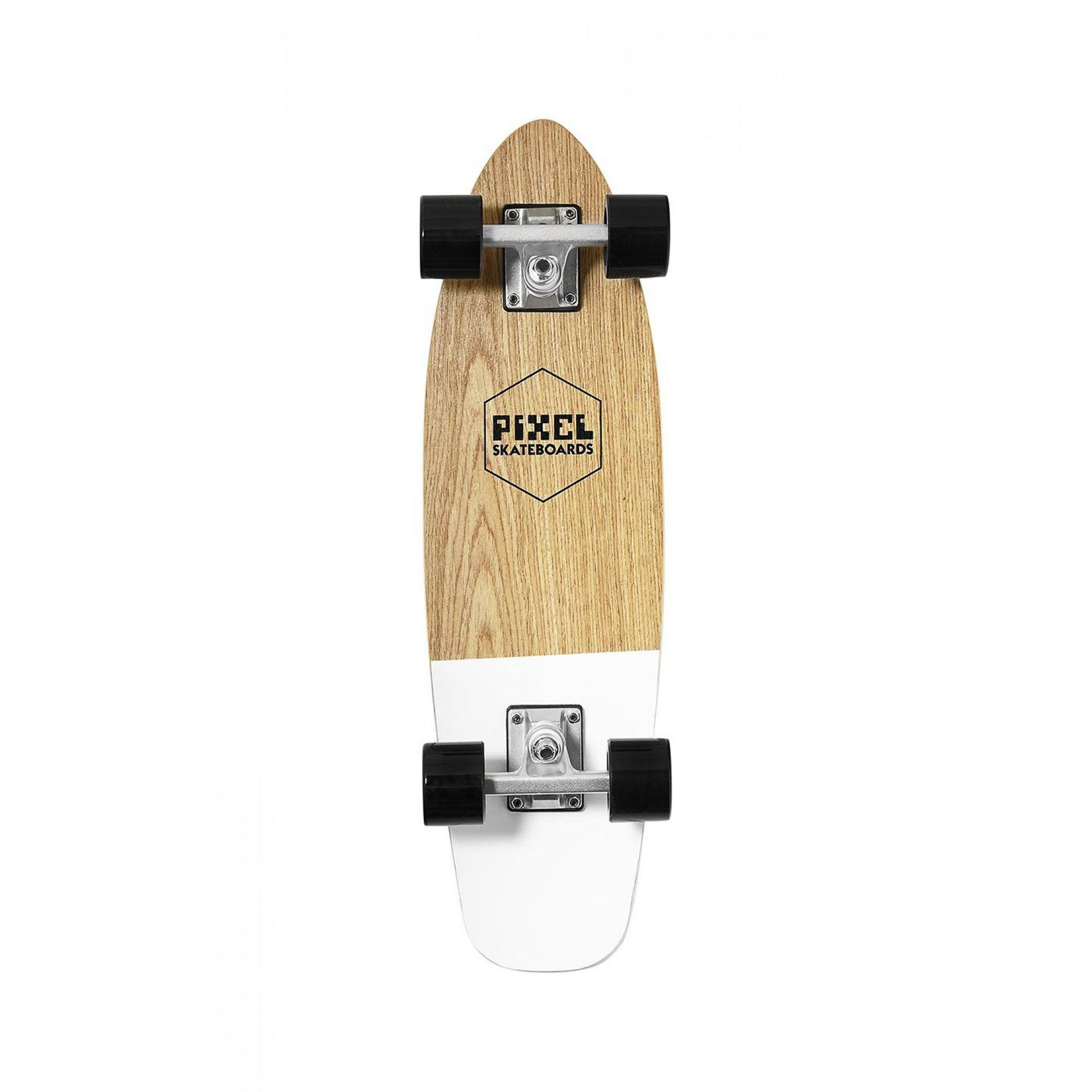 FISHBOARD PIXEL WOODY NATURAL WHITE 1