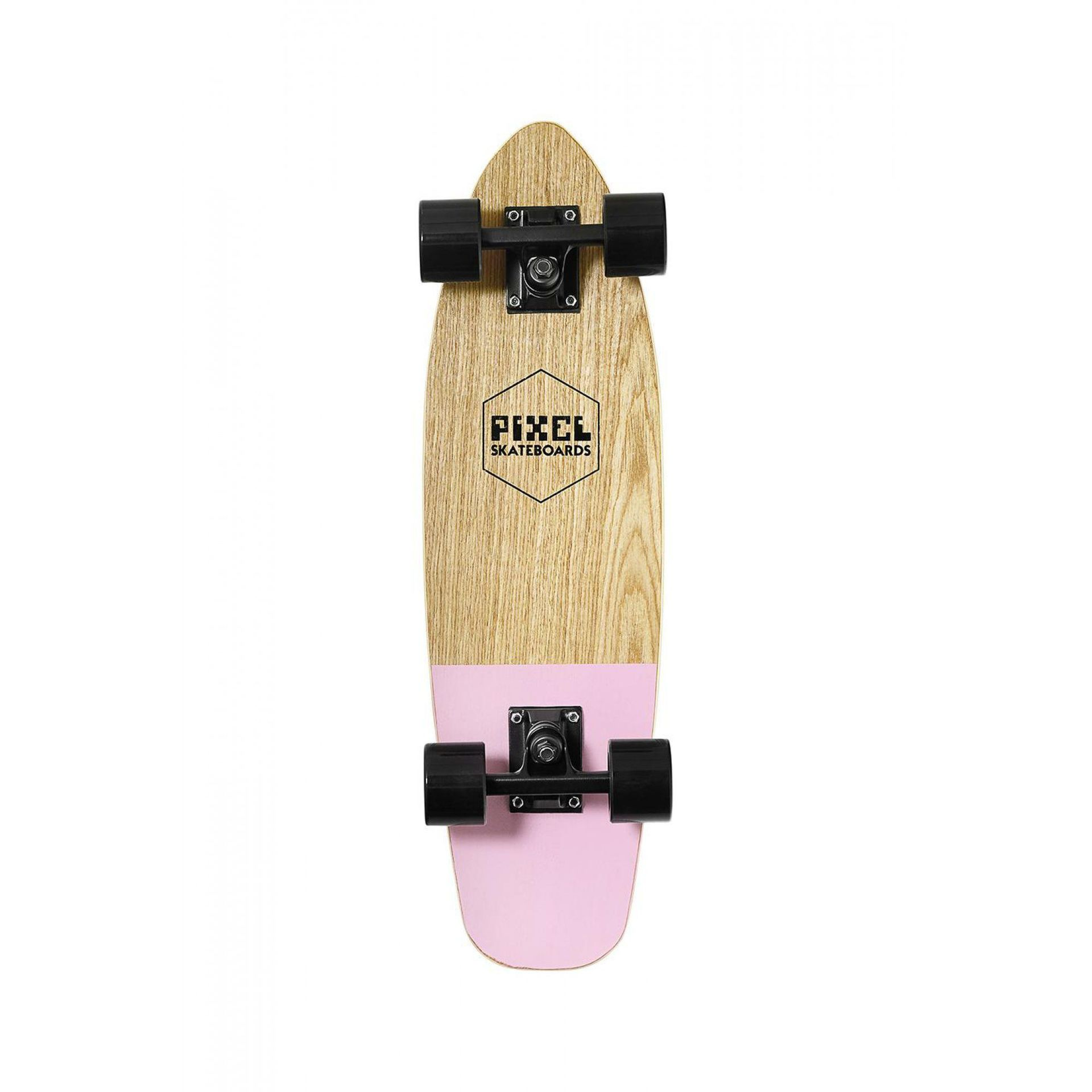 FISHBOARD PIXEL WOODY PINK 1