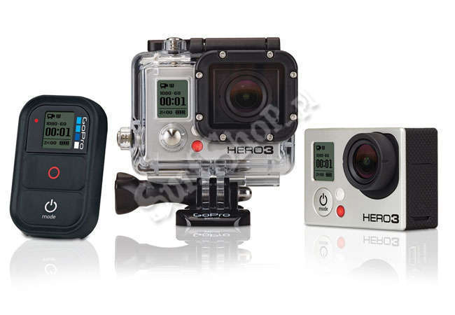 KAMERA GOPRO GOPRO#HD HERO3 BLACK EDITION#