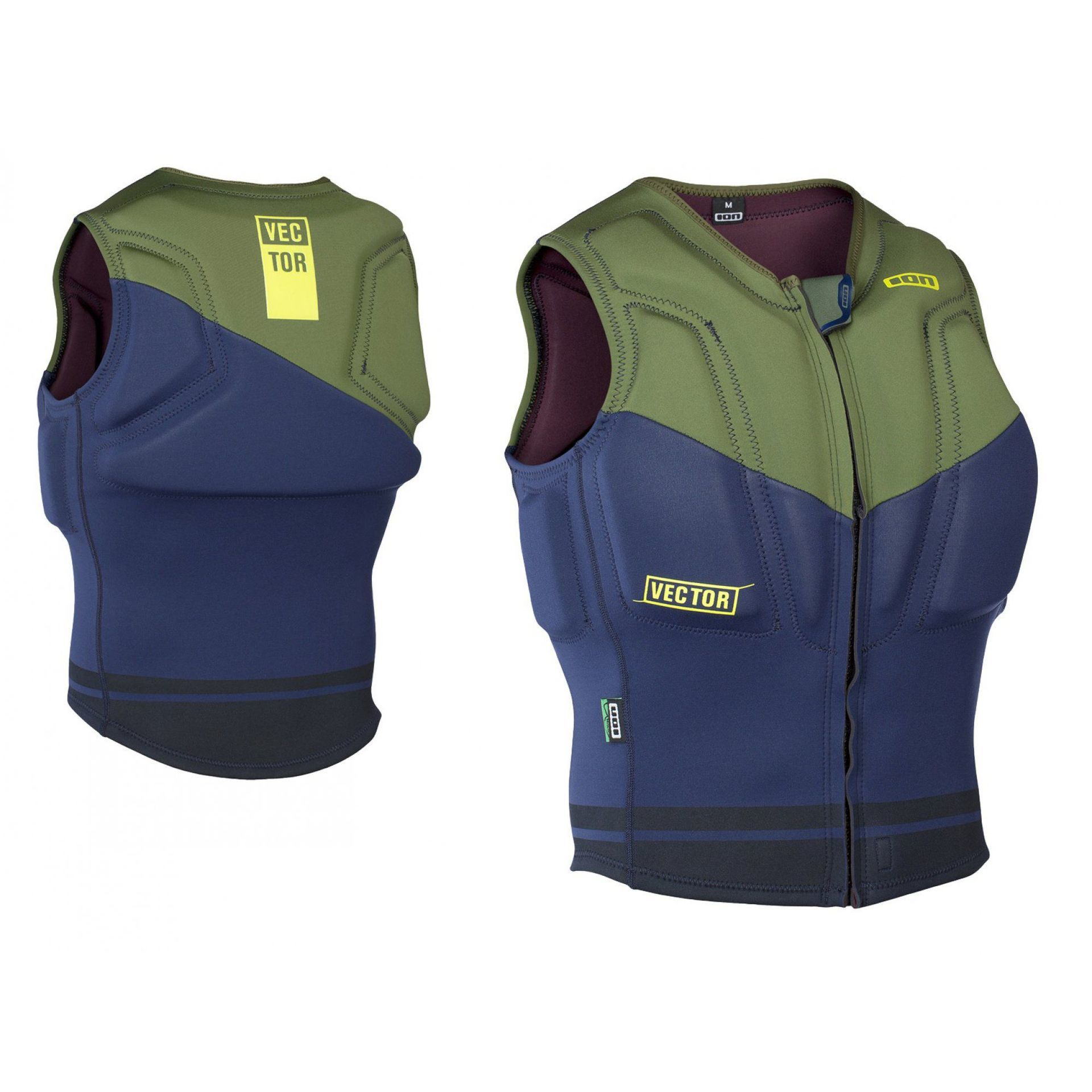 KAMIZELKA ION VECTOR VEST GREEN|BLUE