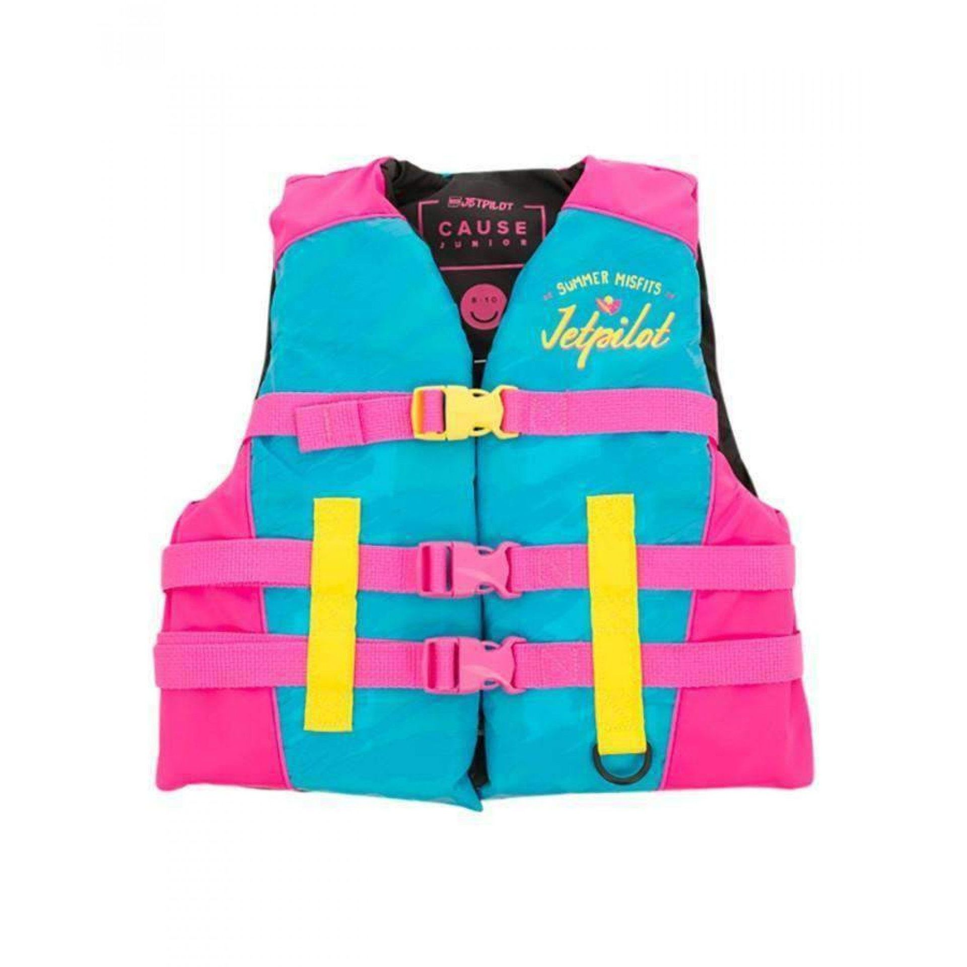 KAMIZELKA JET PILOT CAUSE YOUTH|TEEN NYLON 50N BLUE|PINK 19085 1