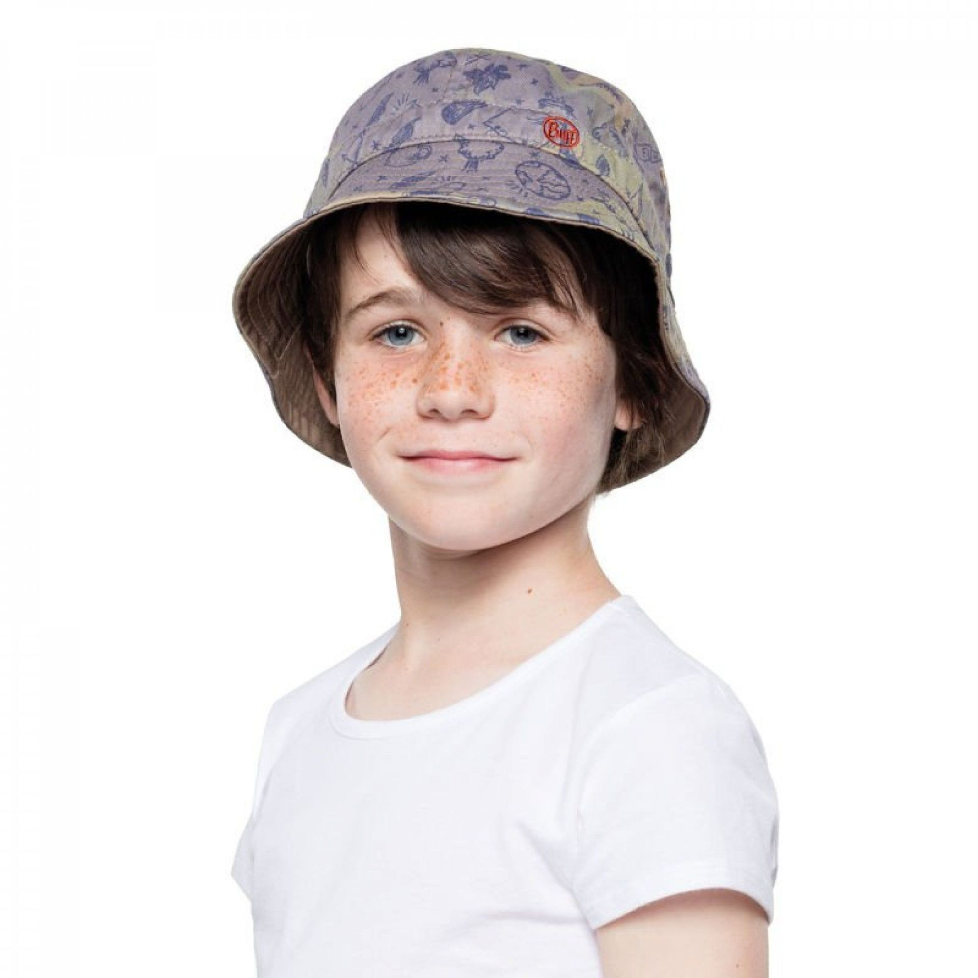KAPELUSZ BUFF BUCKET HAT KIDS CAMP KHAKI 2
