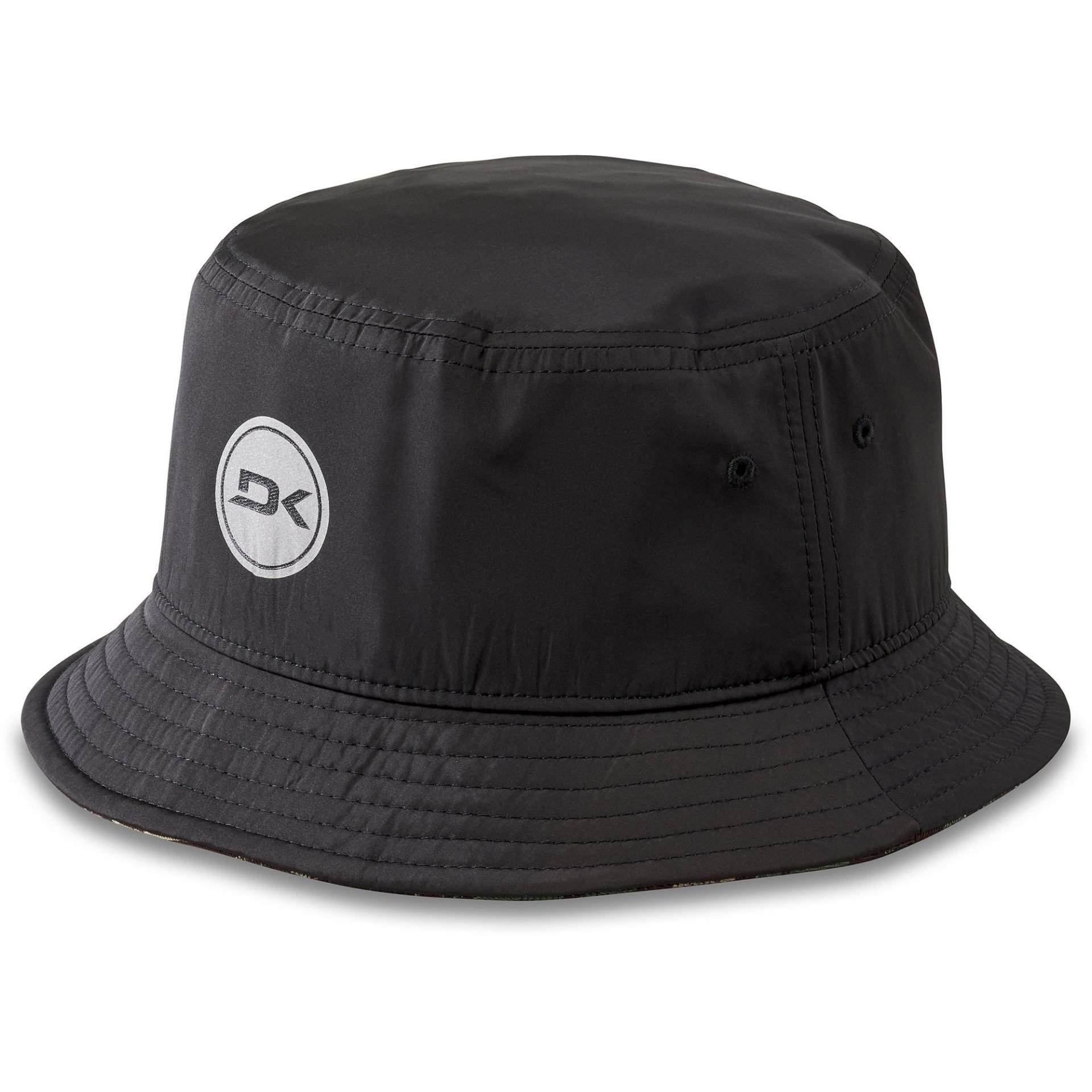 KAPELUSZ DAKINE OPTION REVERSIBLE BUCKET HAT BLACK ALOHA CAMO 1