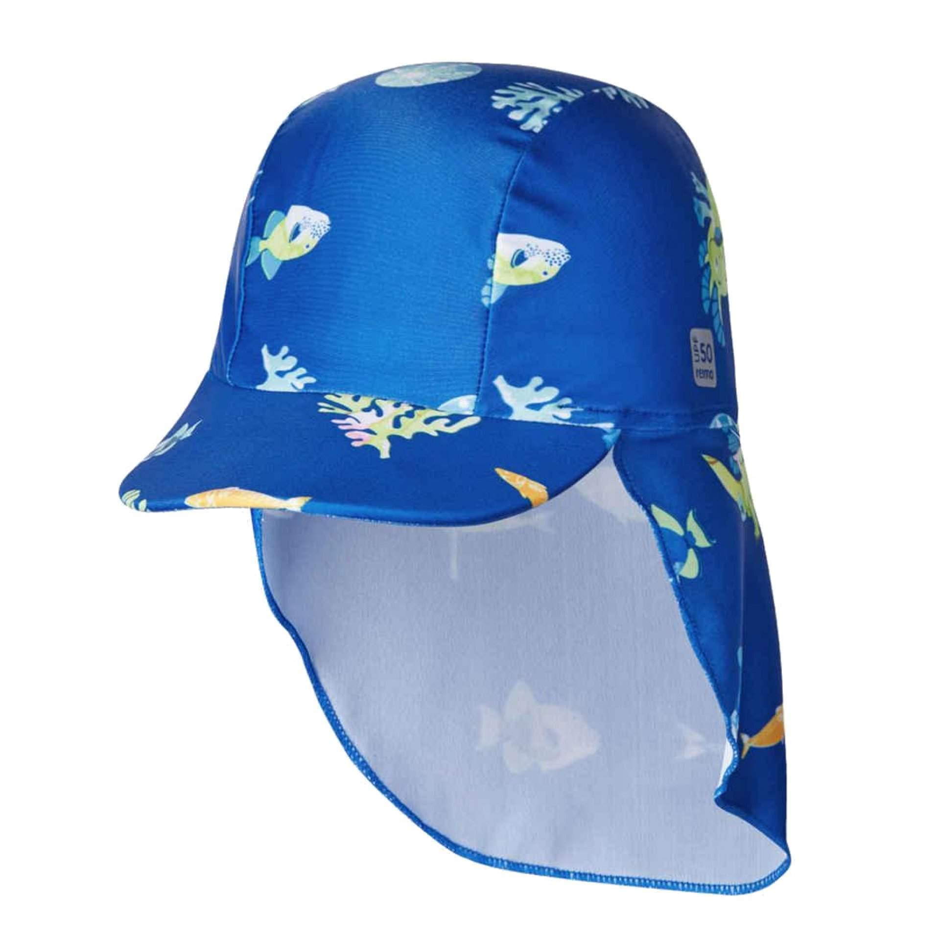 KAPELUSZ REIMA KILPIKONNA 6683 BLUE