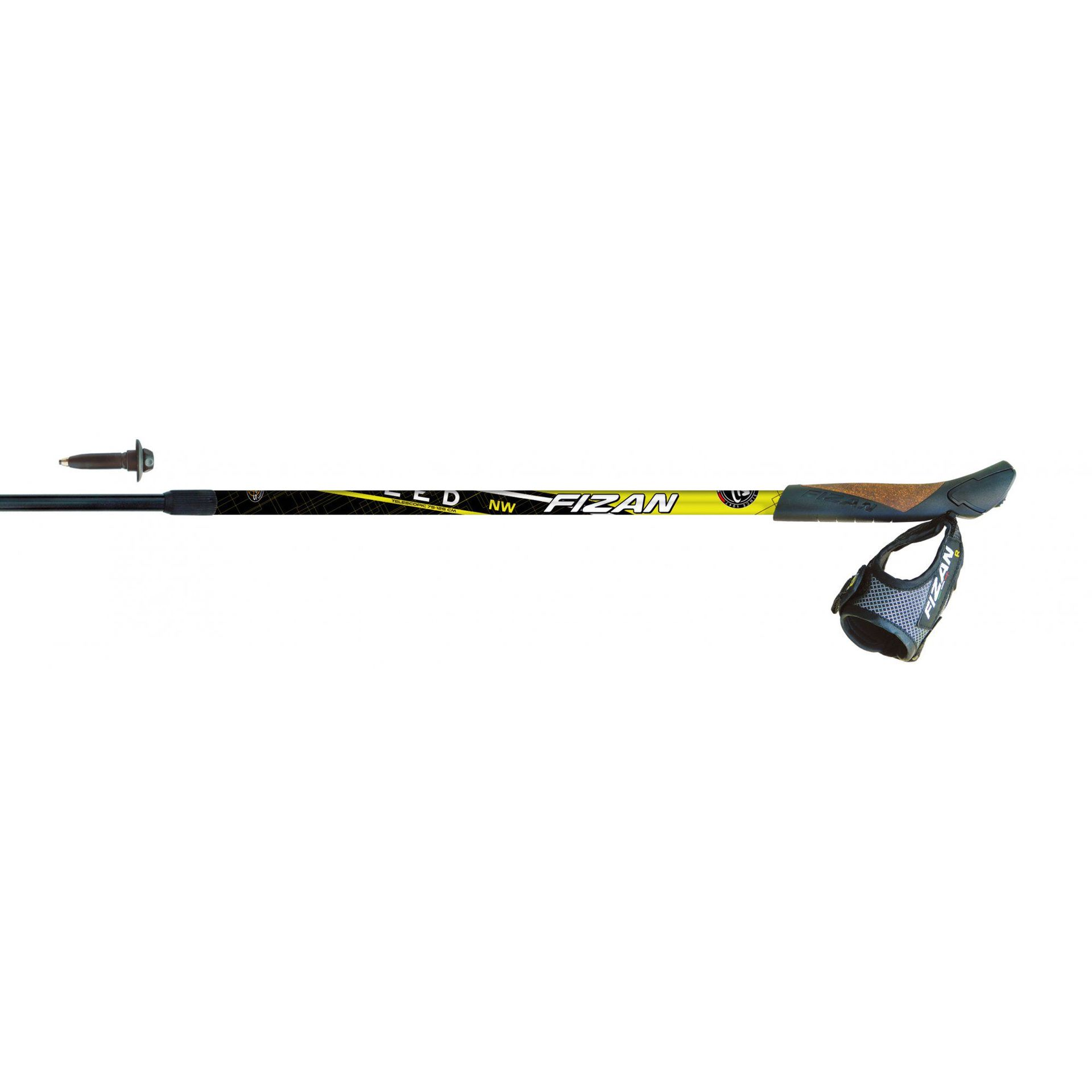 KIJE NORDIC WALKING FIZAN NW SPEED YELLOW