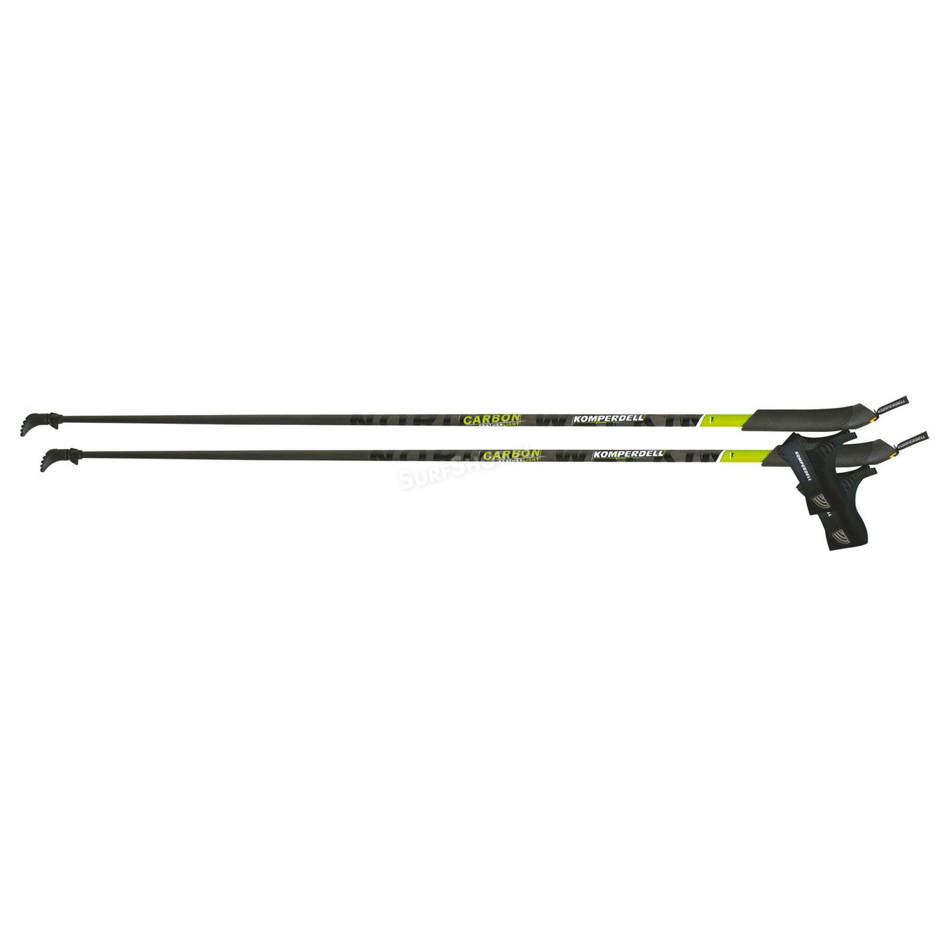 Kije Nordic Walking Komperdell Carbon Featherlight Foam