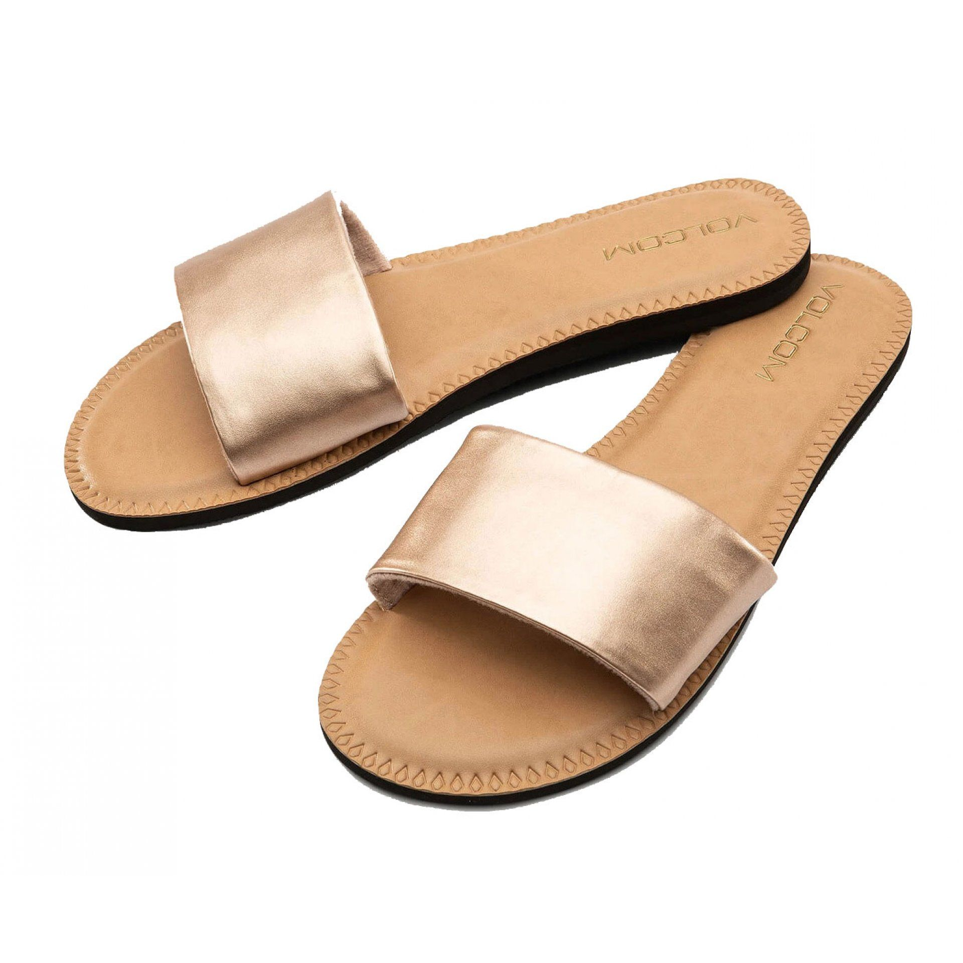 KLAPKI VOLCOM SIMPLE SLIDE W0811816 ROSE GOLD