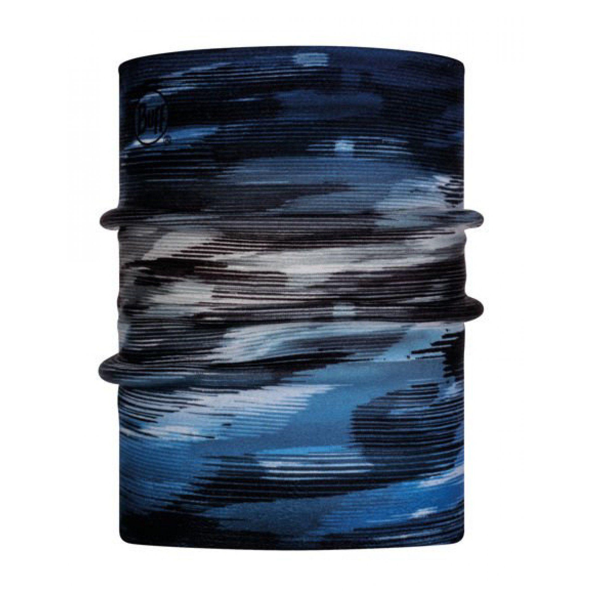 KOMIN BUFF NECKWARMER REVERSIBLE POLAR OSH NIGHT BLUE