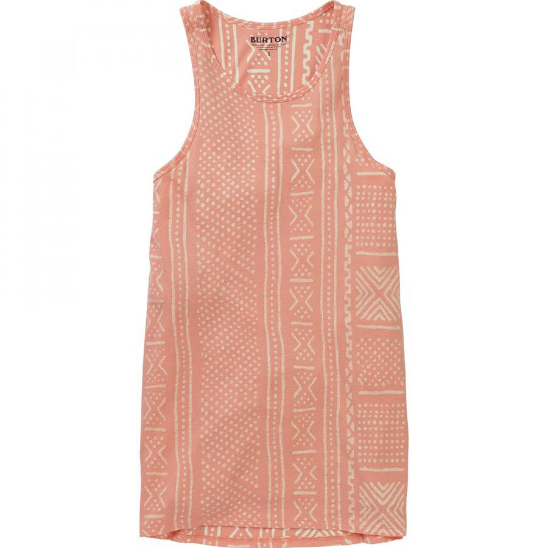 KOSZULKA BURTON CARTA TANK TOP ROSE QUARTZ BAMBARA