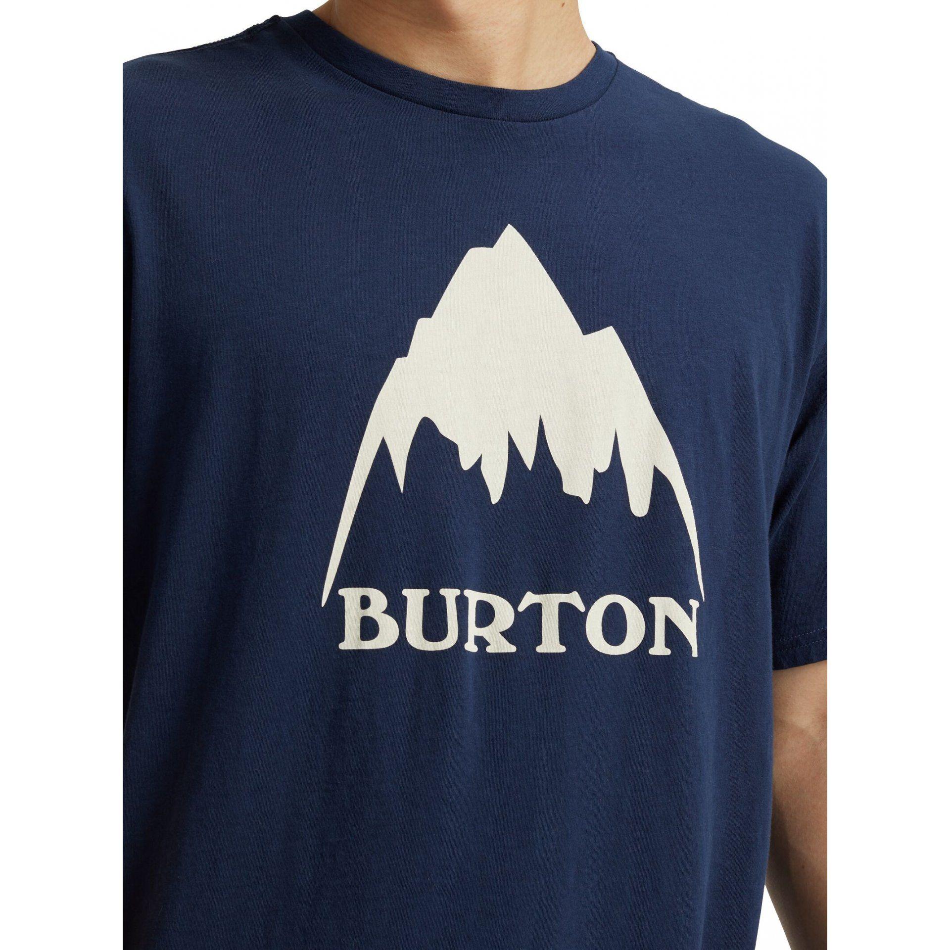 KOSZULKA BURTON CLASSIC MOUNTAIN HIGH DRESS BLUE DETALE