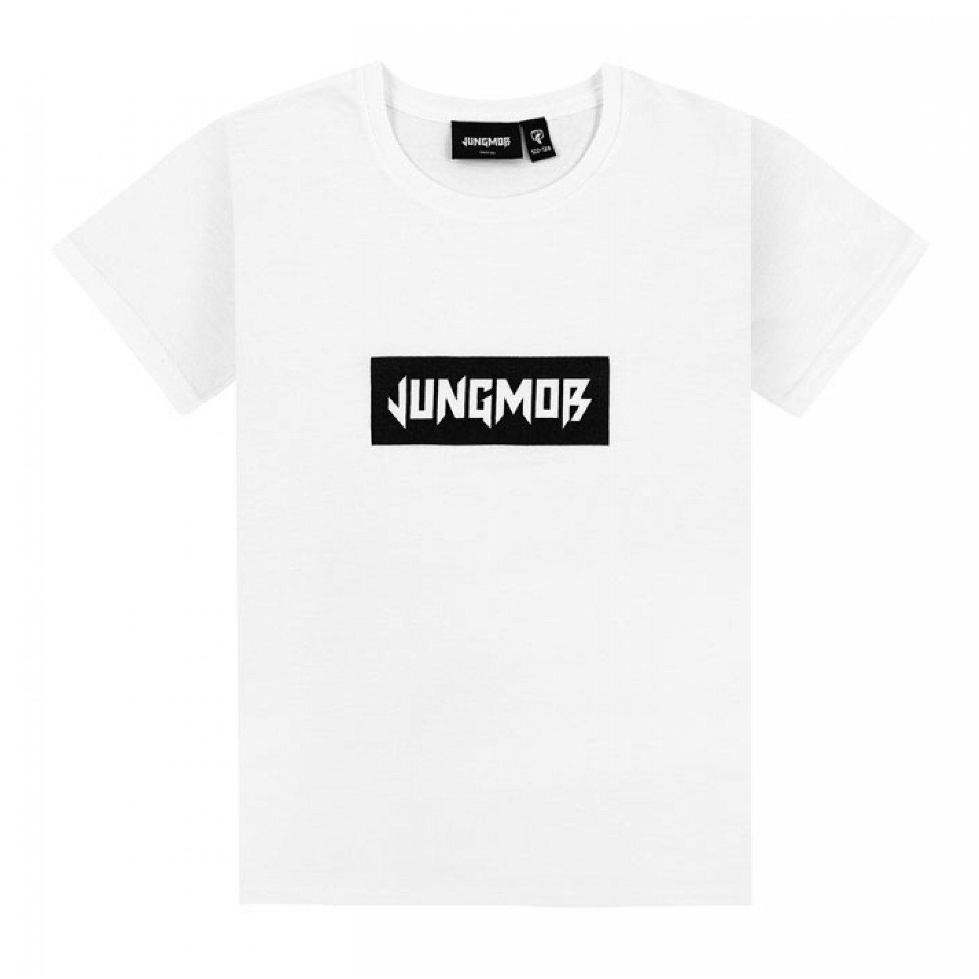 KOSZULKA JUNGMOB BASIC WHITE