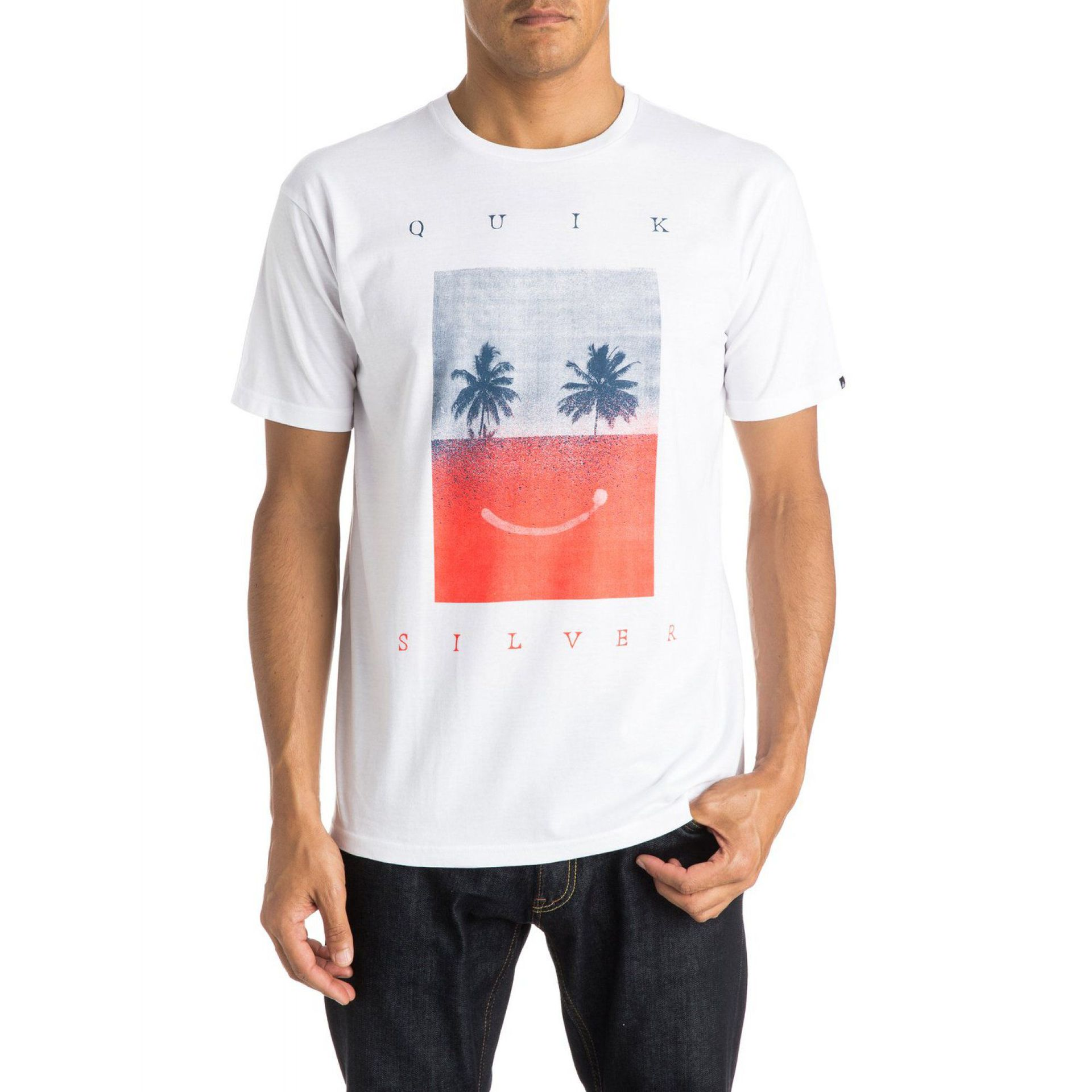 KOSZULKA QUIKSILVER CLASSIC TEE SAD IS BETTER WBBO