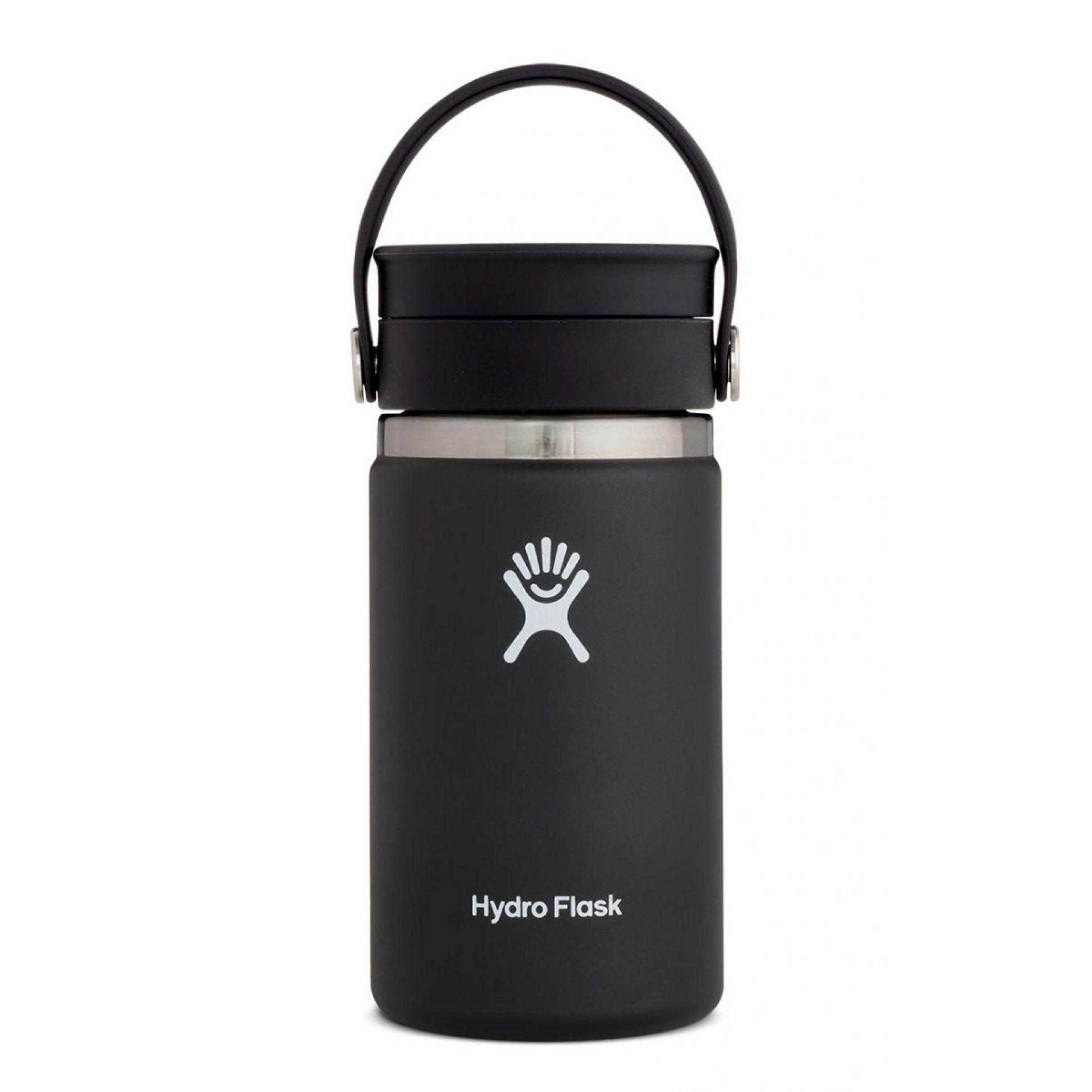 KUBEK TERMICZNY HYDRO FLASK 12 OZ COFFEE WITH FLEX SIP LID BLACK