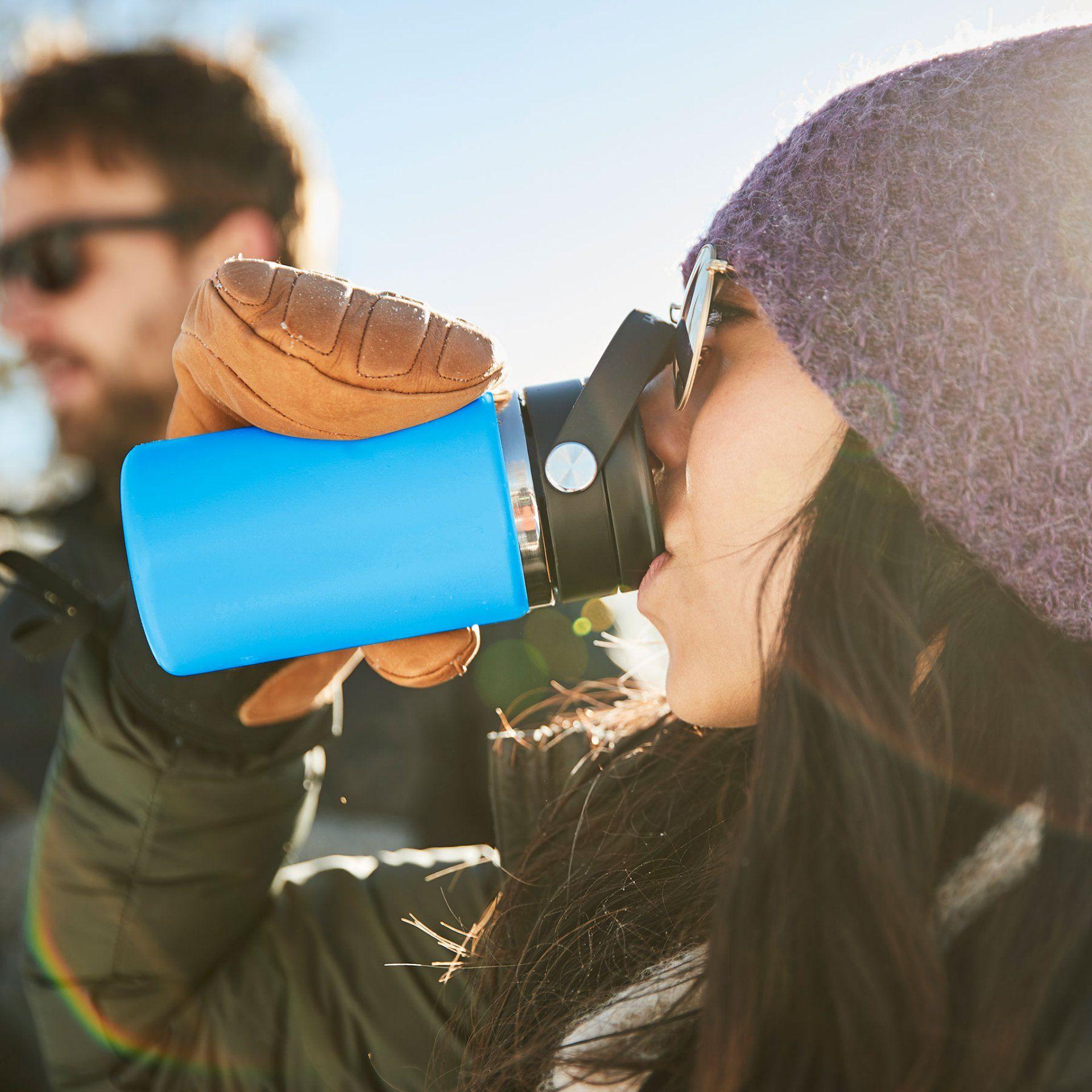KUBEK TERMICZNY HYDRO FLASK 12 OZ COFFEE WITH FLEX SIP LID Z NAPOJEM