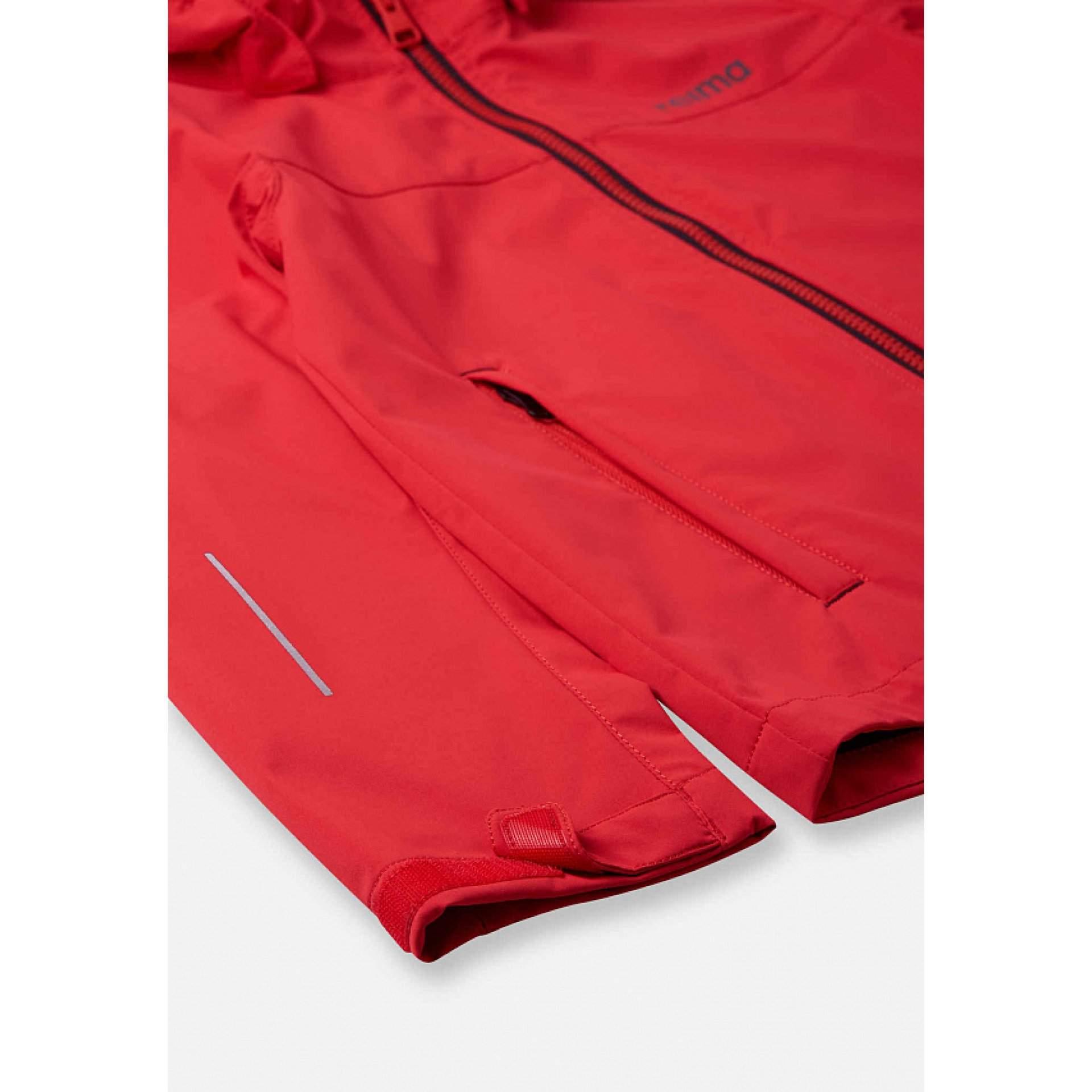 KURTKA REIMA KUOPIO 531509-3880 TOMATO RED MANKIET