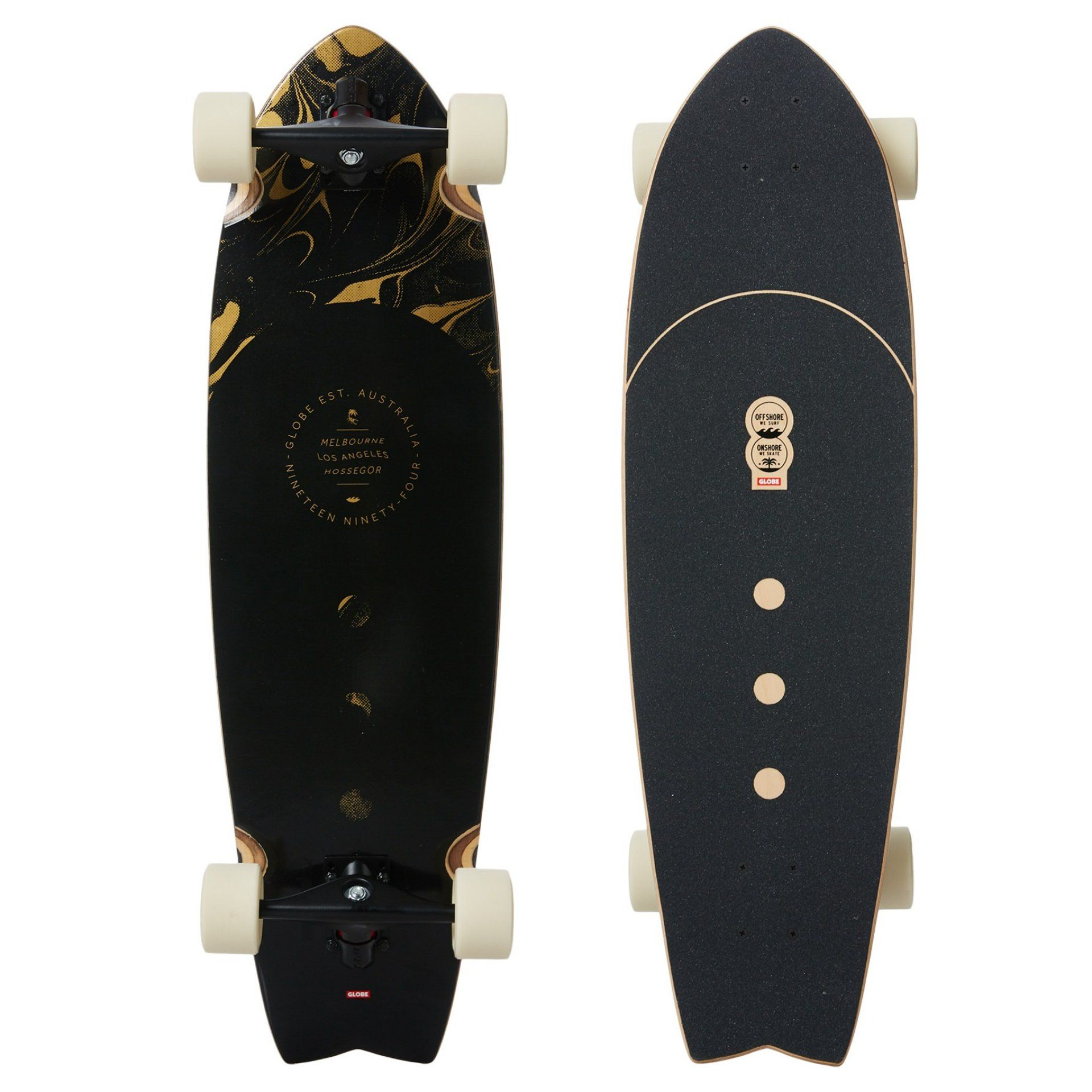 LONGBOARD GLOBE CHROMANTIC ON SHORE|LAY DAY