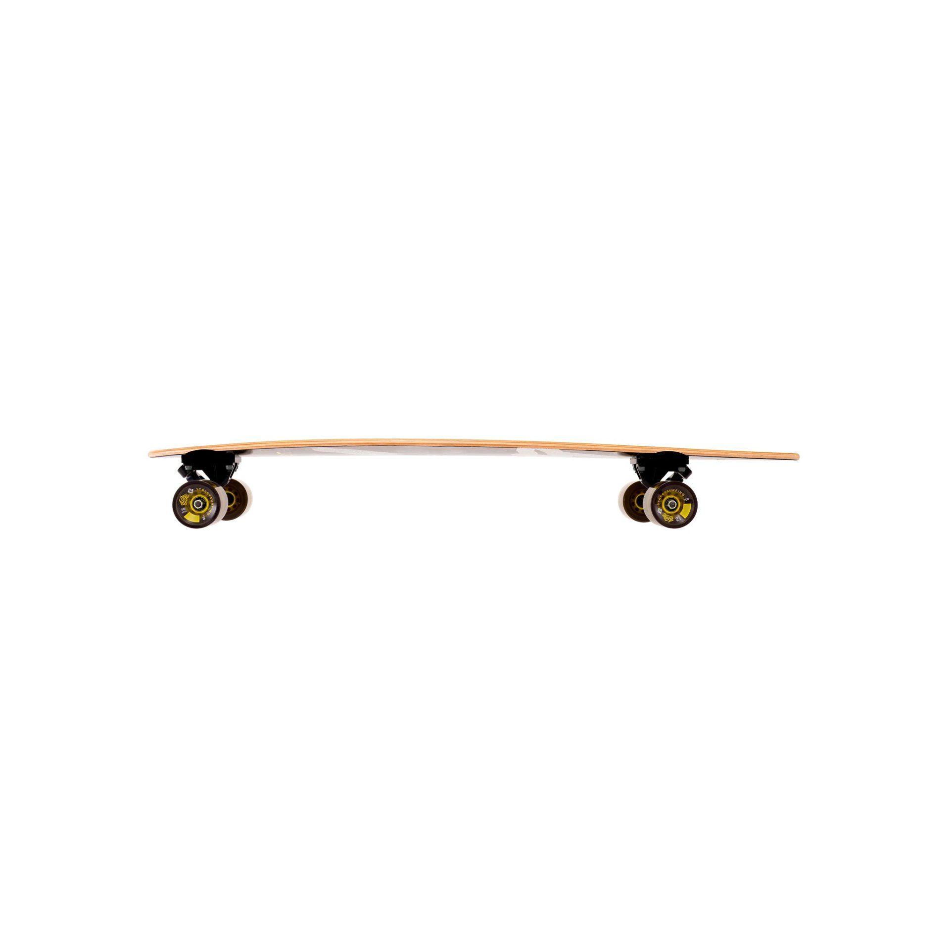 """LONGBOARD STREET SURFING PINTAIL 40"""" ROAD LINE BOK"""