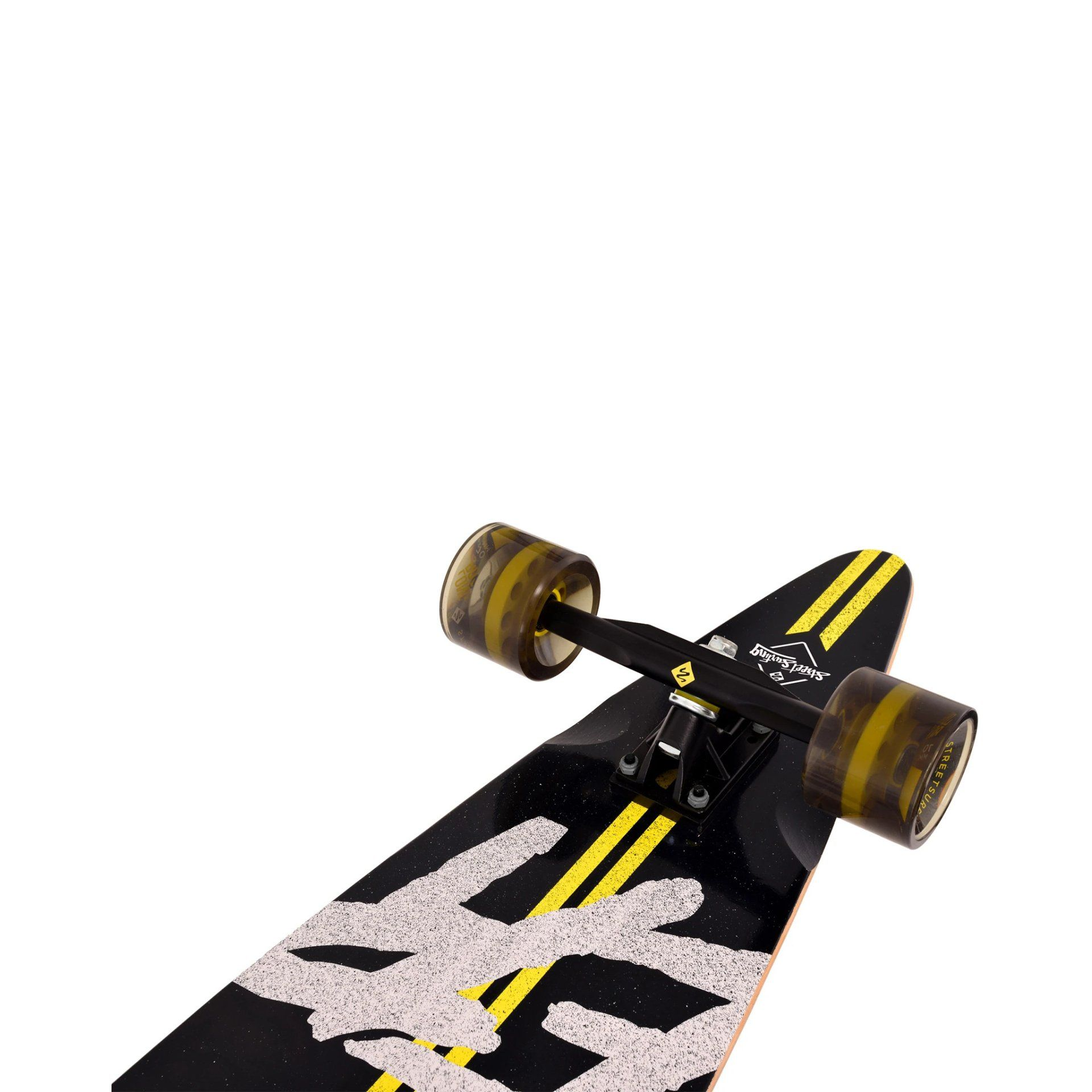 "LONGBOARD STREET SURFING PINTAIL 40"" ROAD LINE KOŁA"