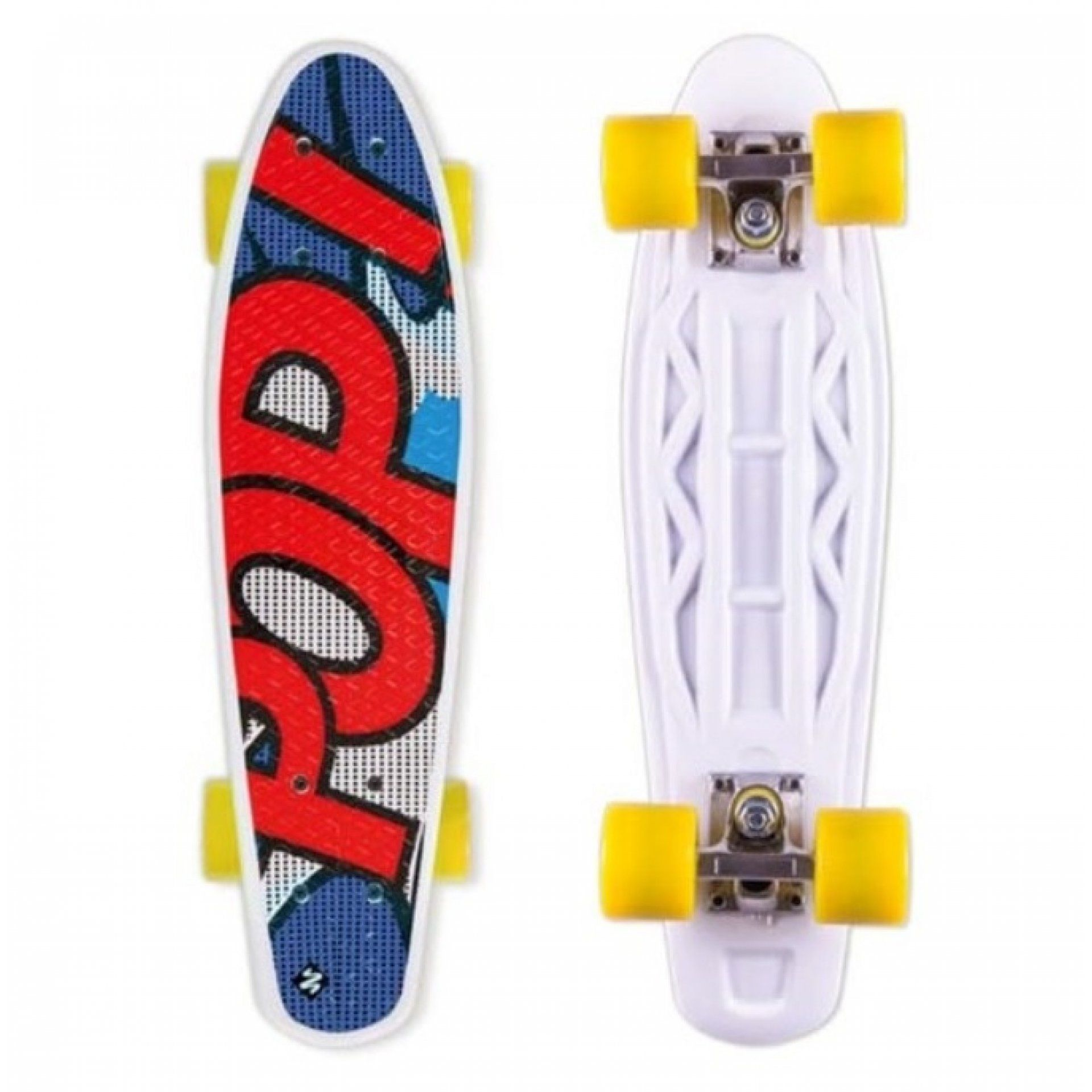 LONGBOARD STREET SURFING POP BOARDS POPSI BLUE