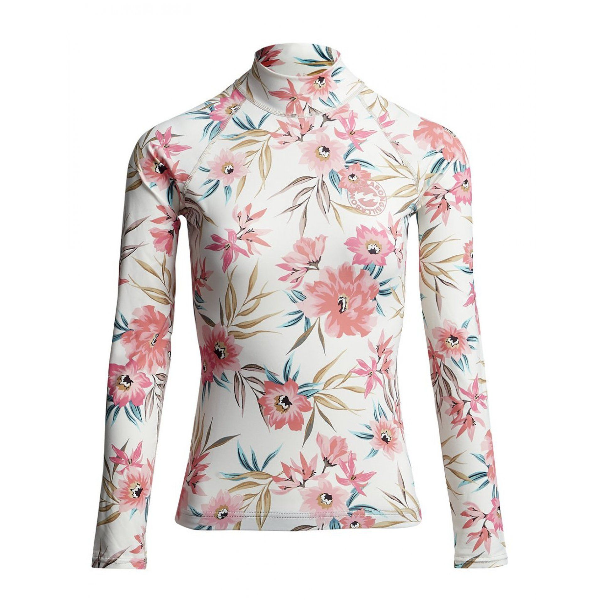 LYCRA BILLABONG FLOWER LS S4GY07BIP0 4194 SALT CRYSTAL