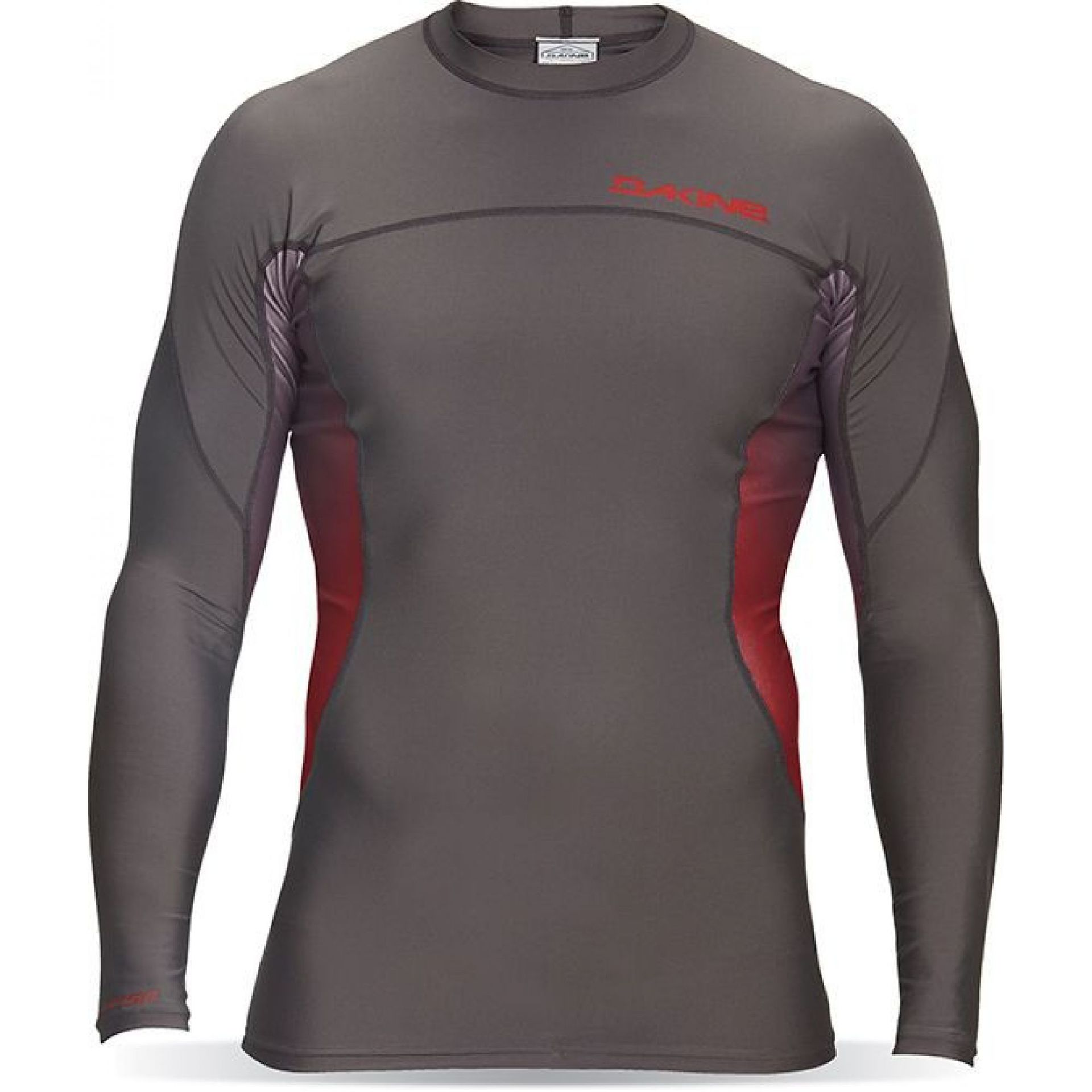 LYCRA DAKINE MENS WRATH SNUG FIT LS GUNMETAL