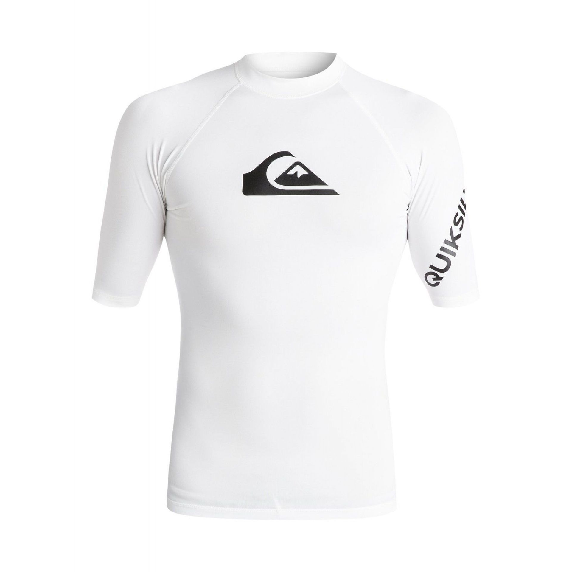 LYCRA QUIKSILVER ALL TIME SS RASH TANK WHITE