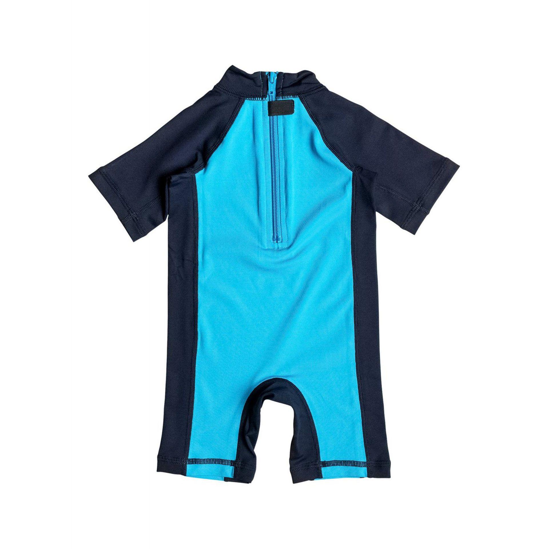 LYCRA QUIKSILVER BABY BUBBLE SPRINGSUIT BLUE DANUBE_NAVY BLAZER