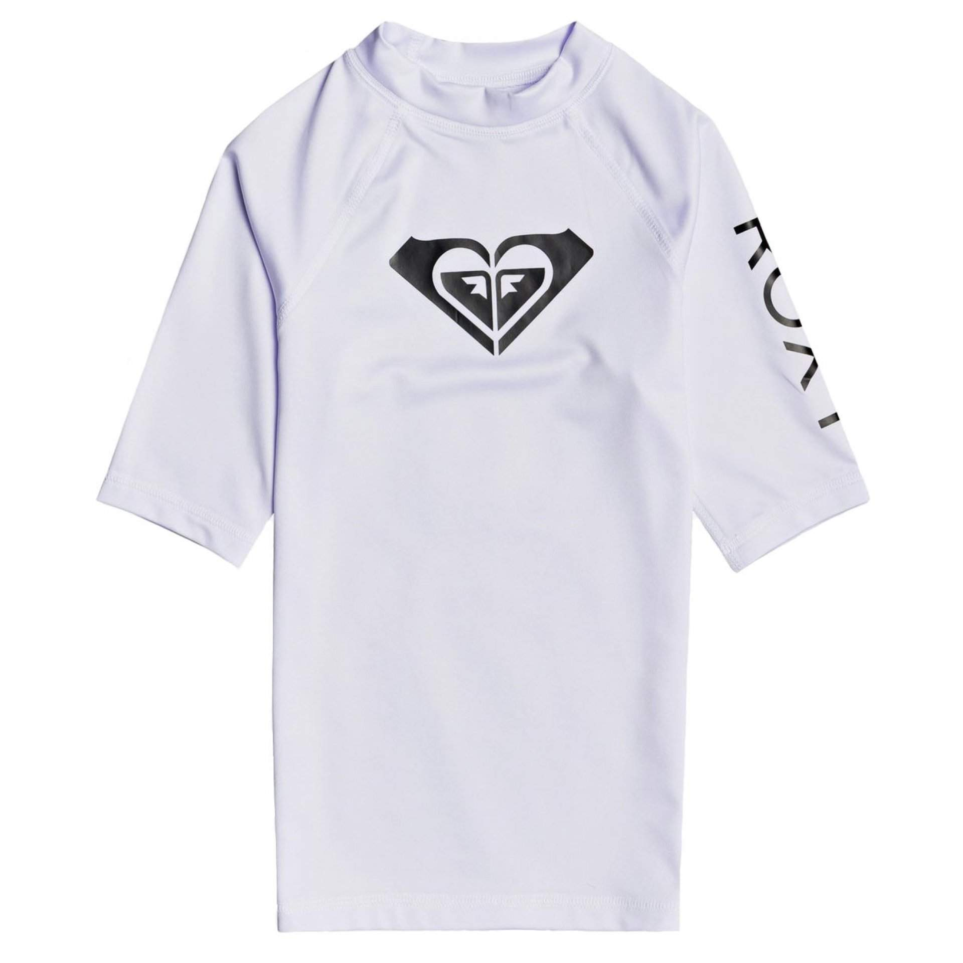 LYCRA ROXY GIRLS 8-16 WHOLE HEARTED SS ERGWR03206 WBB1