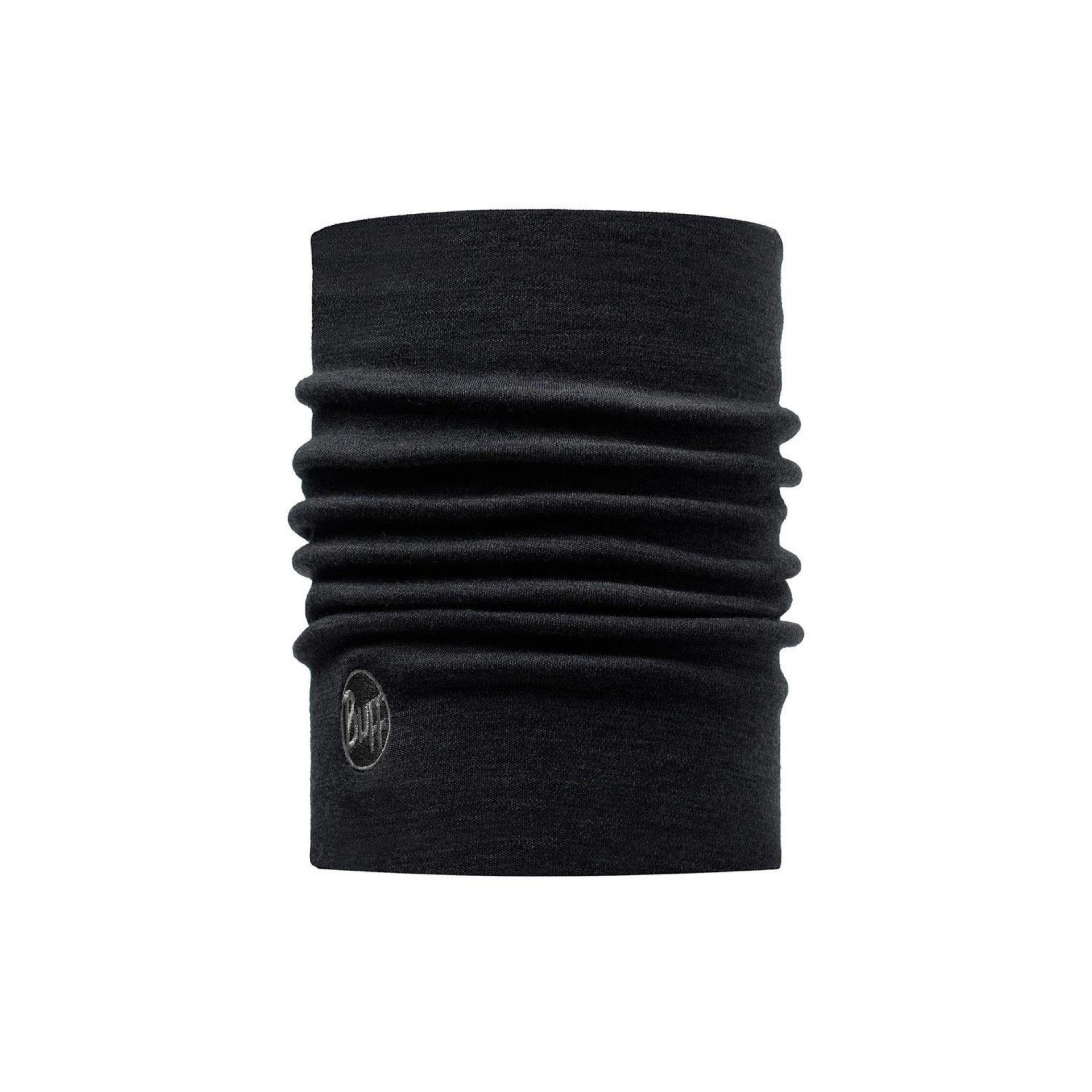 NECKWARMER WOOL THERNMAL BLACK