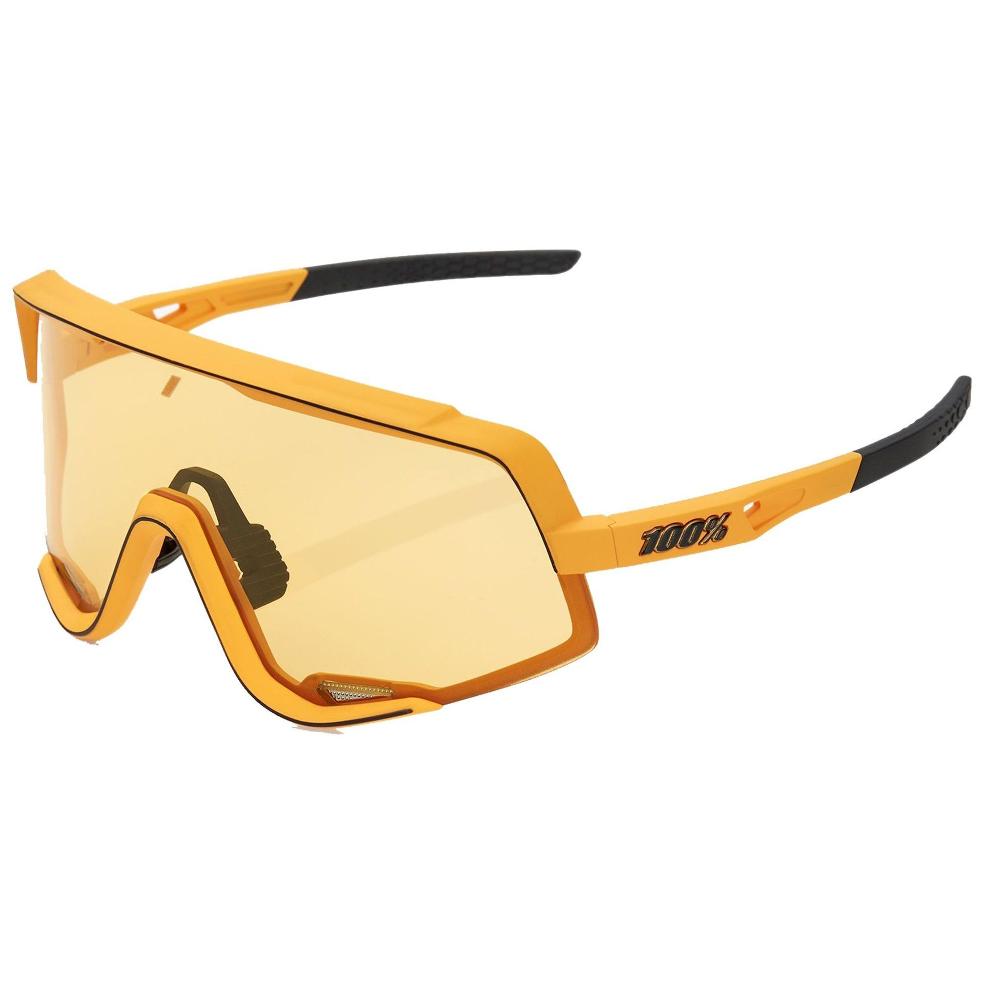 OKULARY 100% GLENDALE SOFT TACT MUSTARD|SOFT YELLOW 1