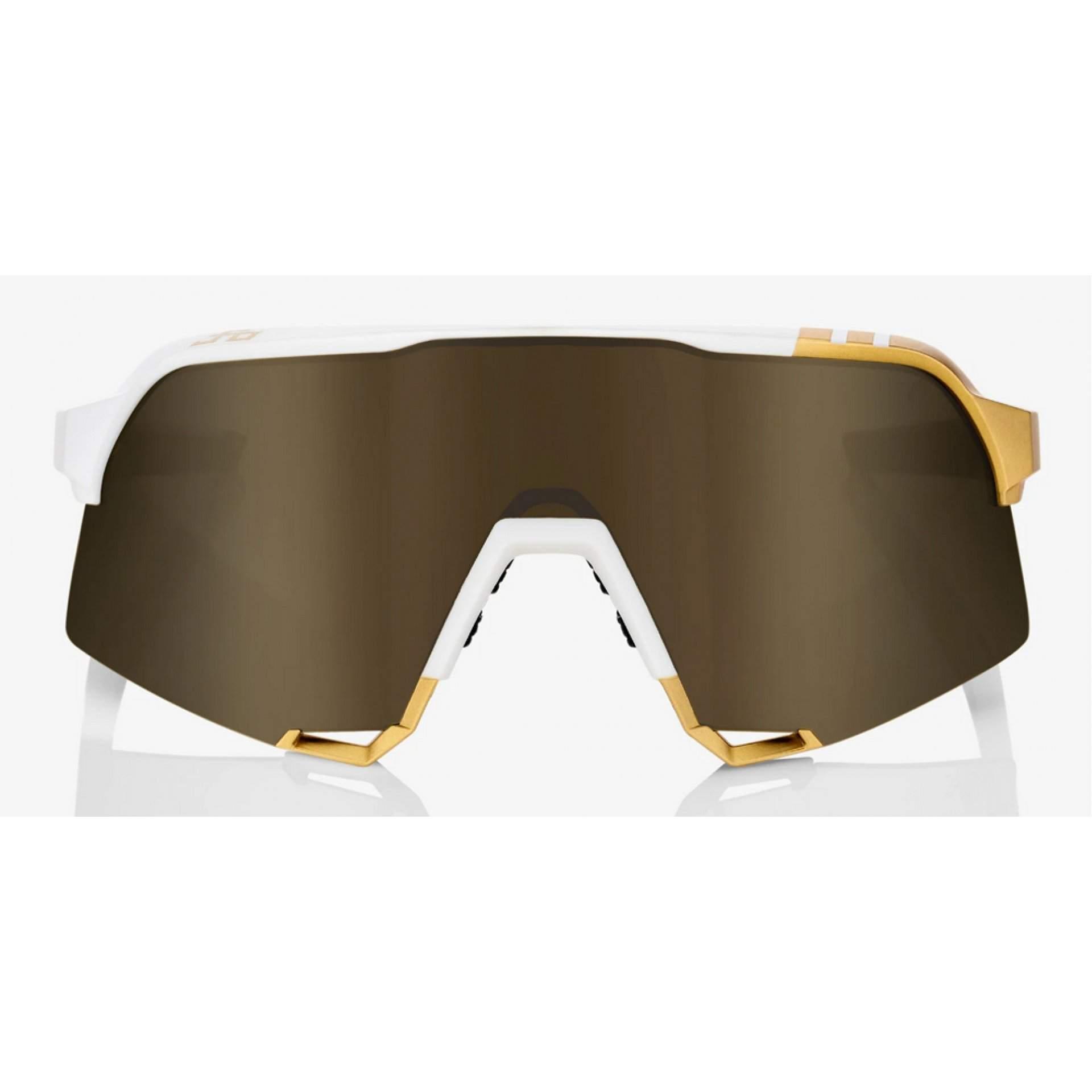 OKULARY 100% PETER SAGAN LE S3 WHITE GOLD|SOFT GOLD MIRROR 2