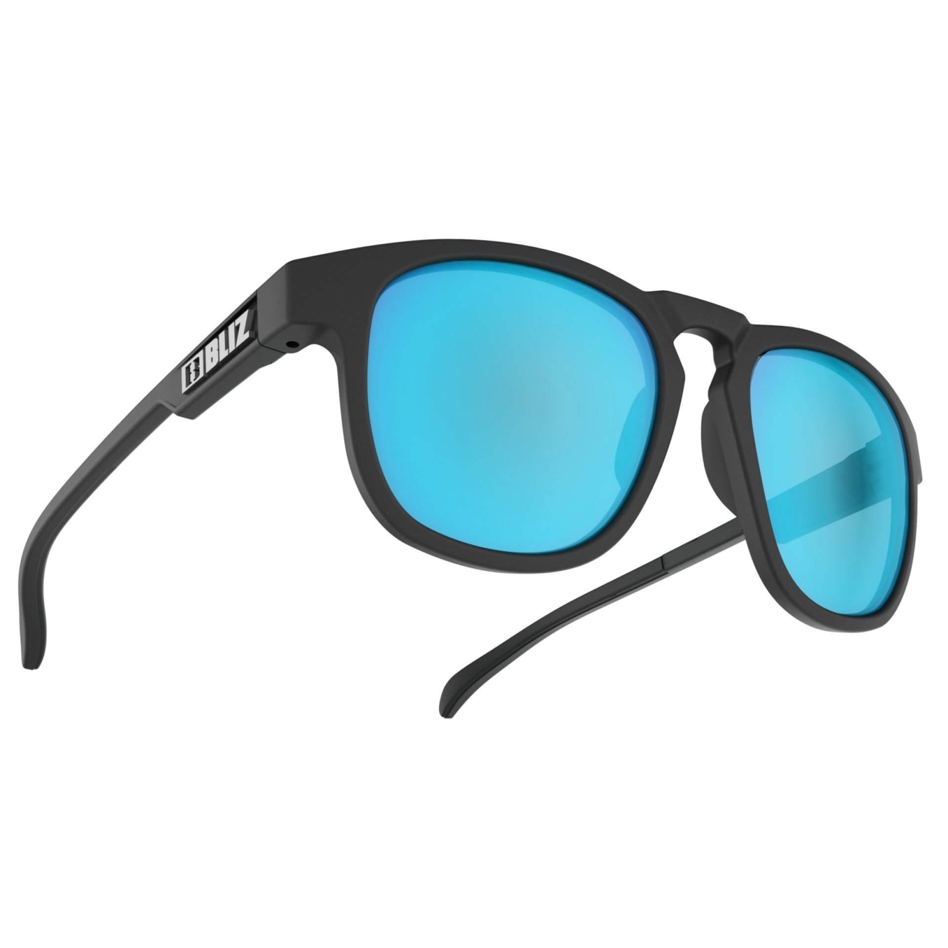 OKULARY BLIZ ACE BLACK SMOKE W BLUE MULTI 54907 13