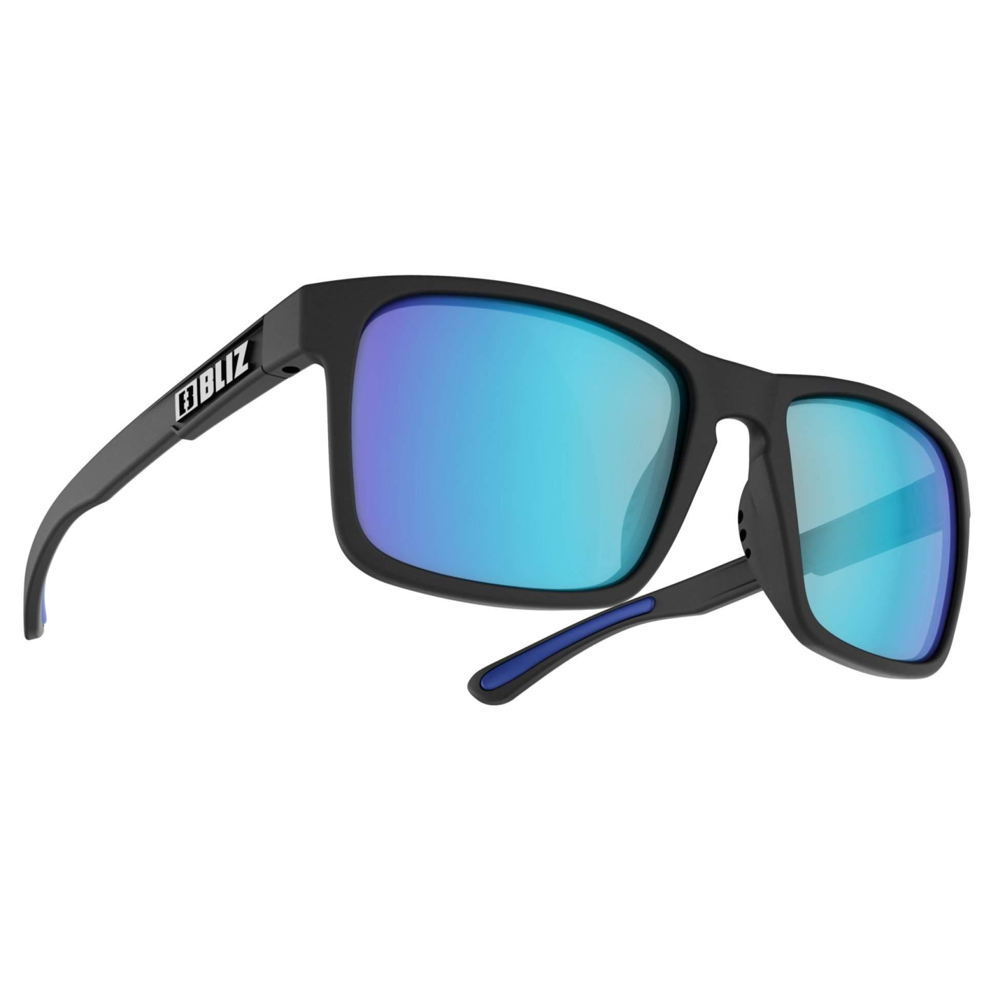 OKULARY BLIZ LUNA BLACK SMOKE W BLUE MULTI 54605 13