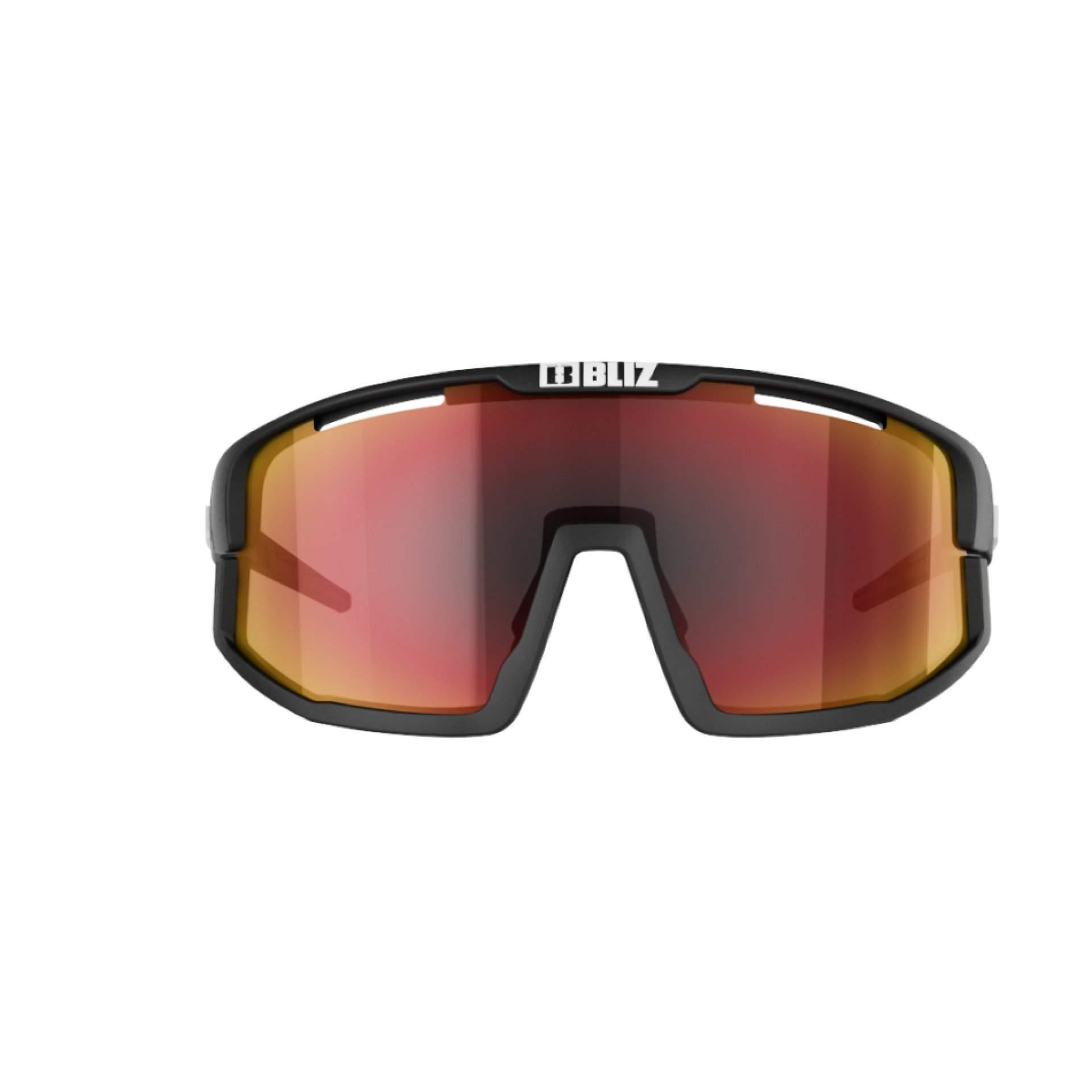 OKULARY BLIZ VISION BLACK|BROWN W RED MULTI 52001|14 Z PRZODU