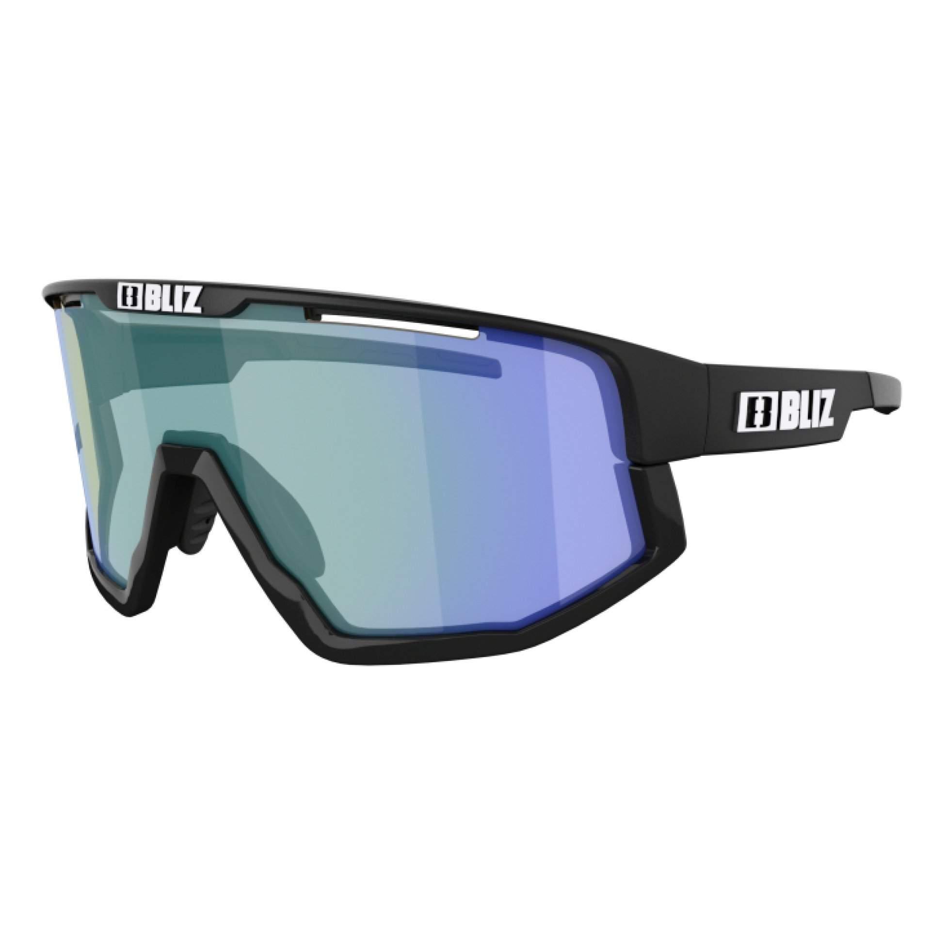 OKULARY BLIZ VISION NANO MATT BLACK|BROWN W BLUE MULTI 52101|13P