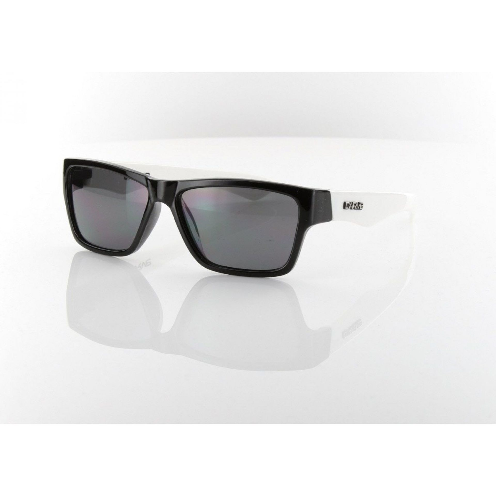 OKULARY CARVE KIDS STINGER BLACK|WHITE