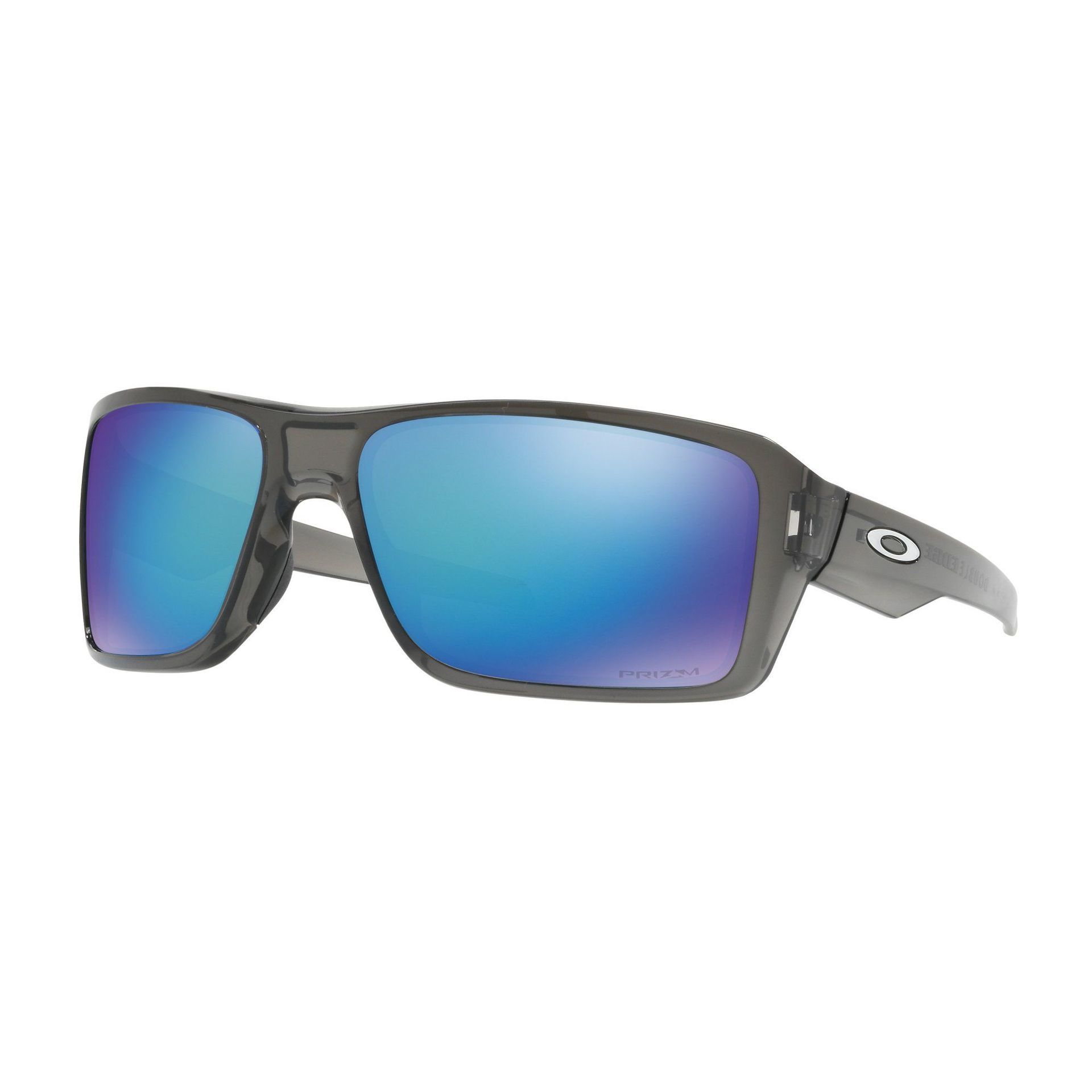 OKULARY OAKLEY DOUBLE EDGE GRAY SMOKE|PRIZM SAPPHIRE POLARIZED