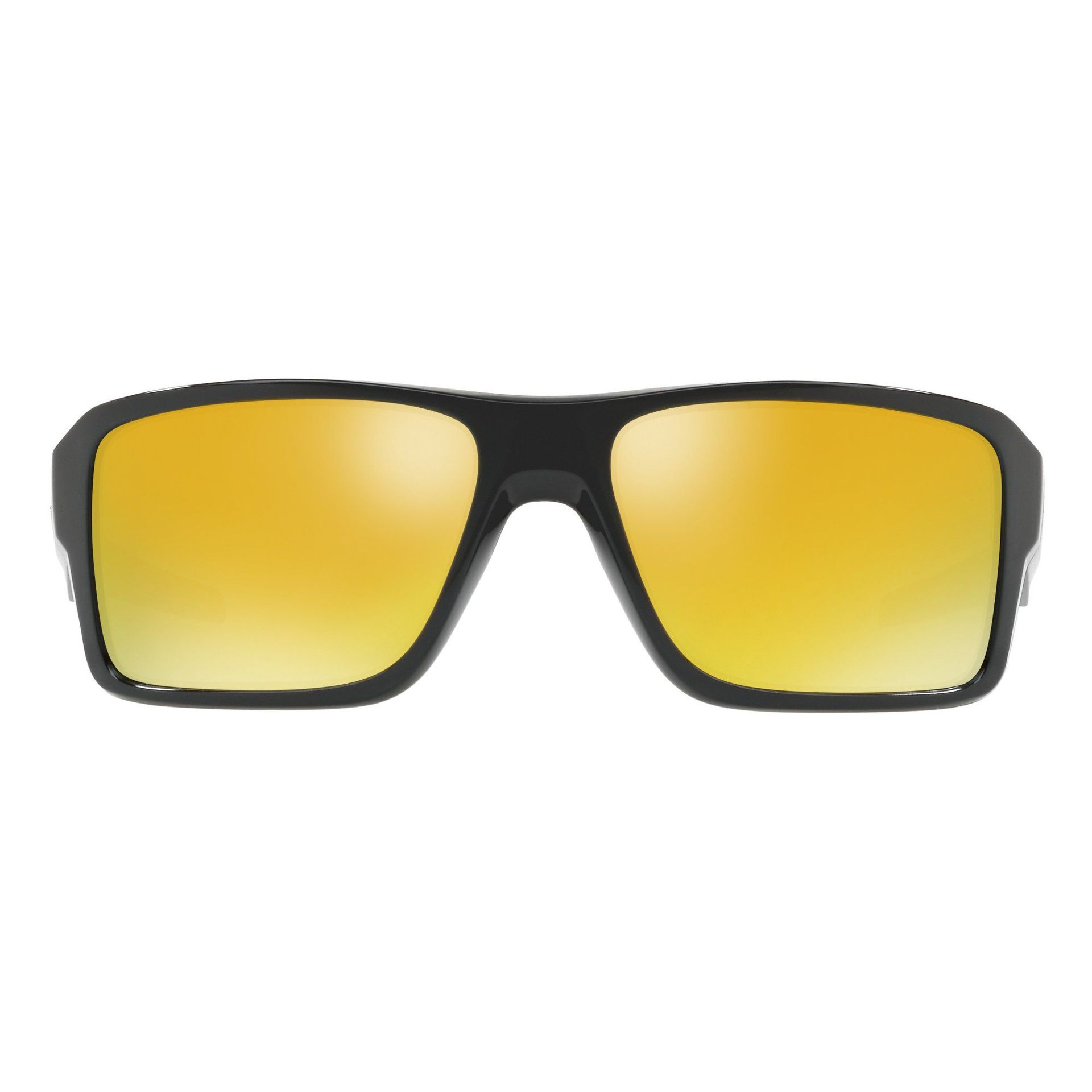OKULARY OAKLEY DOUBLE EDGE POLISHED BLACK|24K IRIDIUM 1