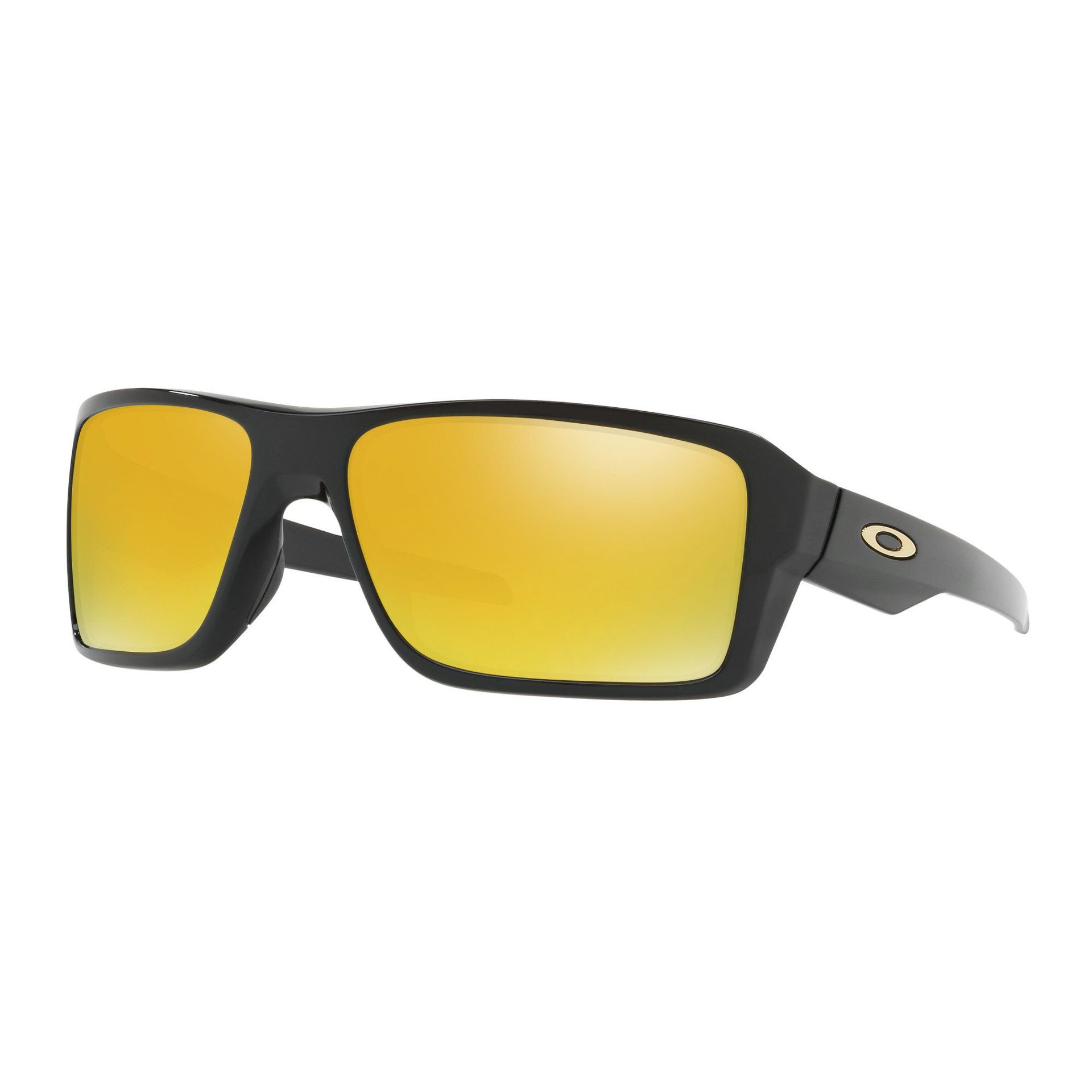 OKULARY OAKLEY DOUBLE EDGE POLISHED BLACK|24K IRIDIUM