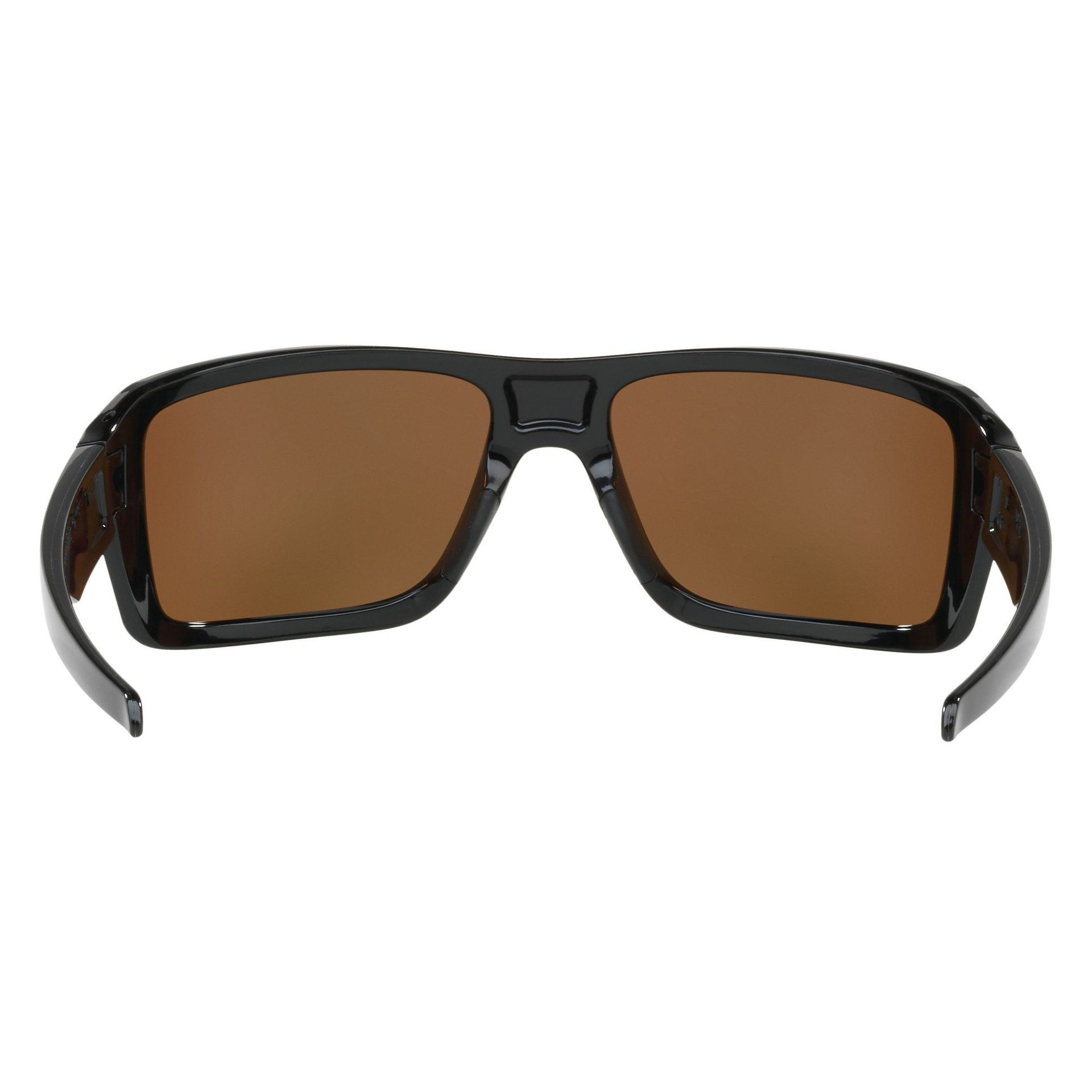 OKULARY OAKLEY DOUBLE EDGE POLISHED BLACK|24K IRIDIUM 2