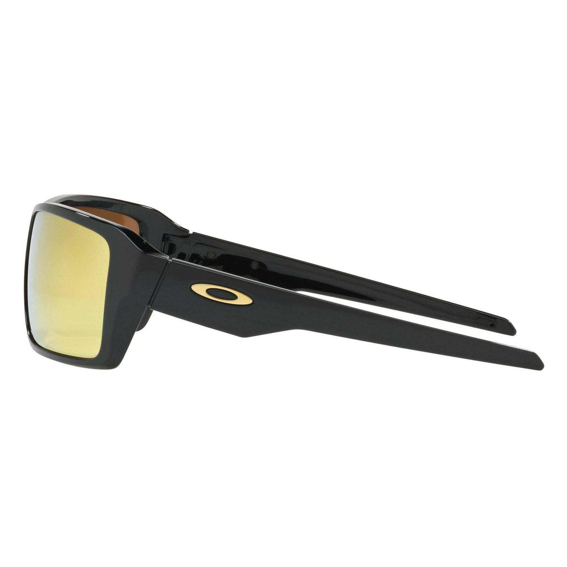 OKULARY OAKLEY DOUBLE EDGE POLISHED BLACK|24K IRIDIUM 3