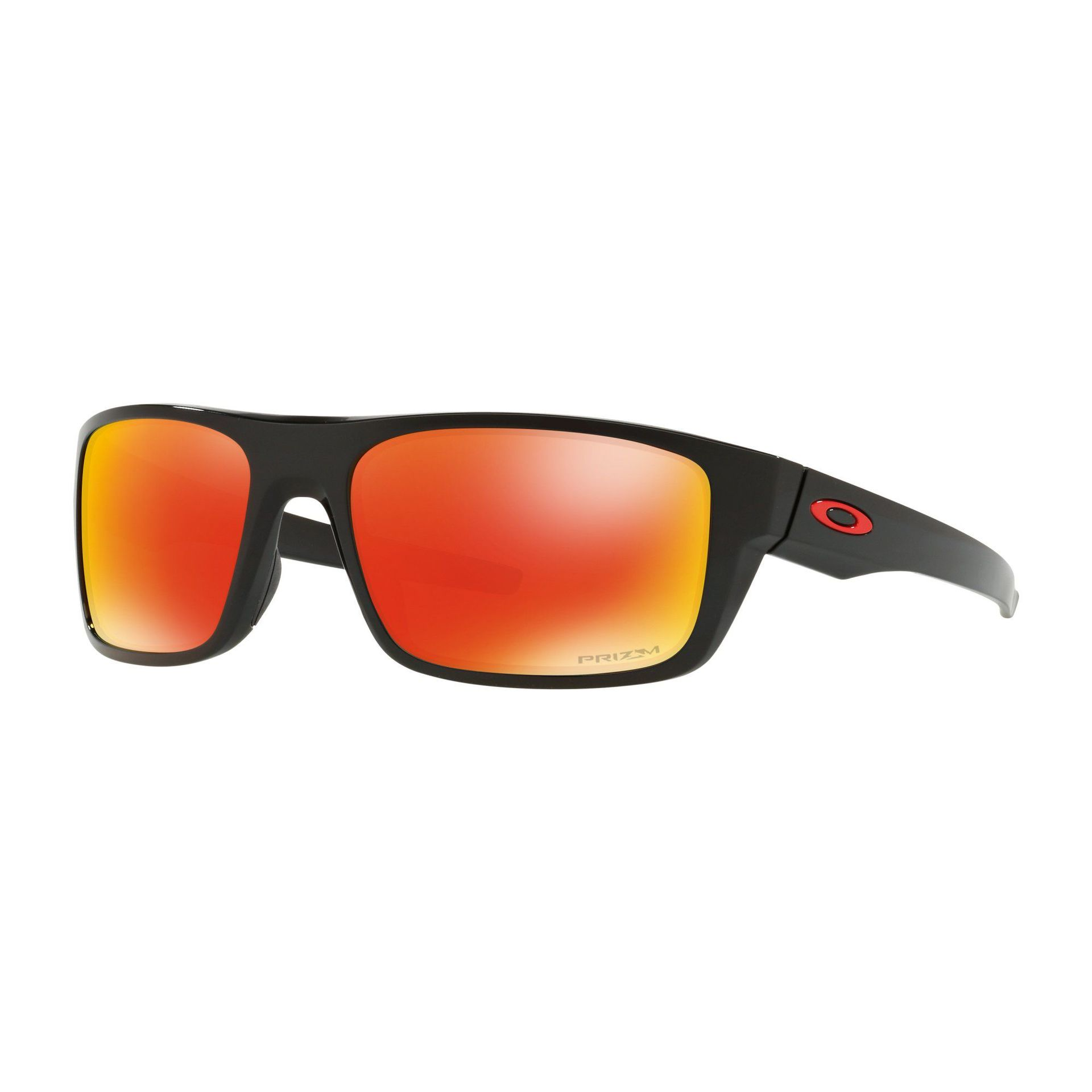OKULARY OAKLEY DROP POINT POLISHED BLACK|PRIZM RUBY