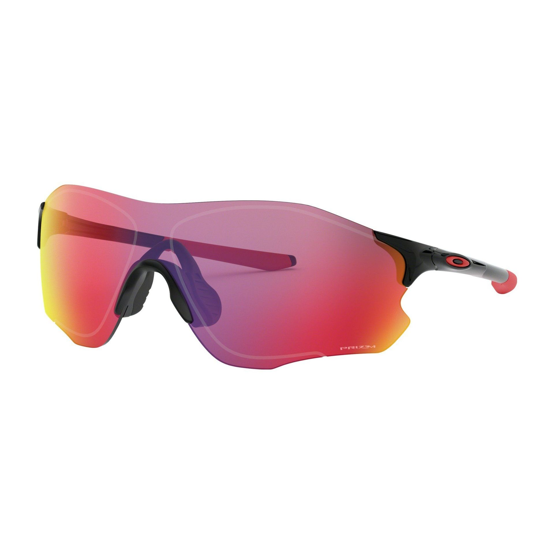 OKULARY OAKLEY EVZERO PATH POLISHED BLACK|PRIZM ROAD 1