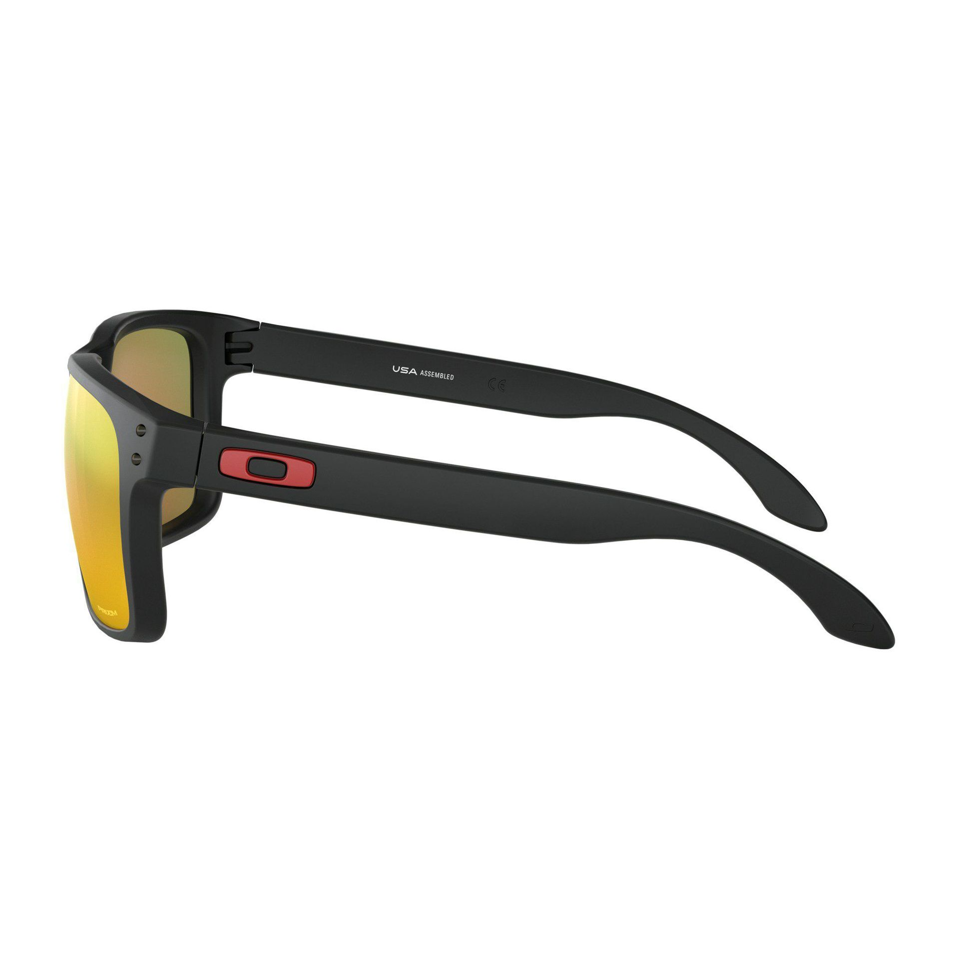 OKULARY OAKLEY HOLBROOK XL MATTE BLACK PRIZM RUBY 3