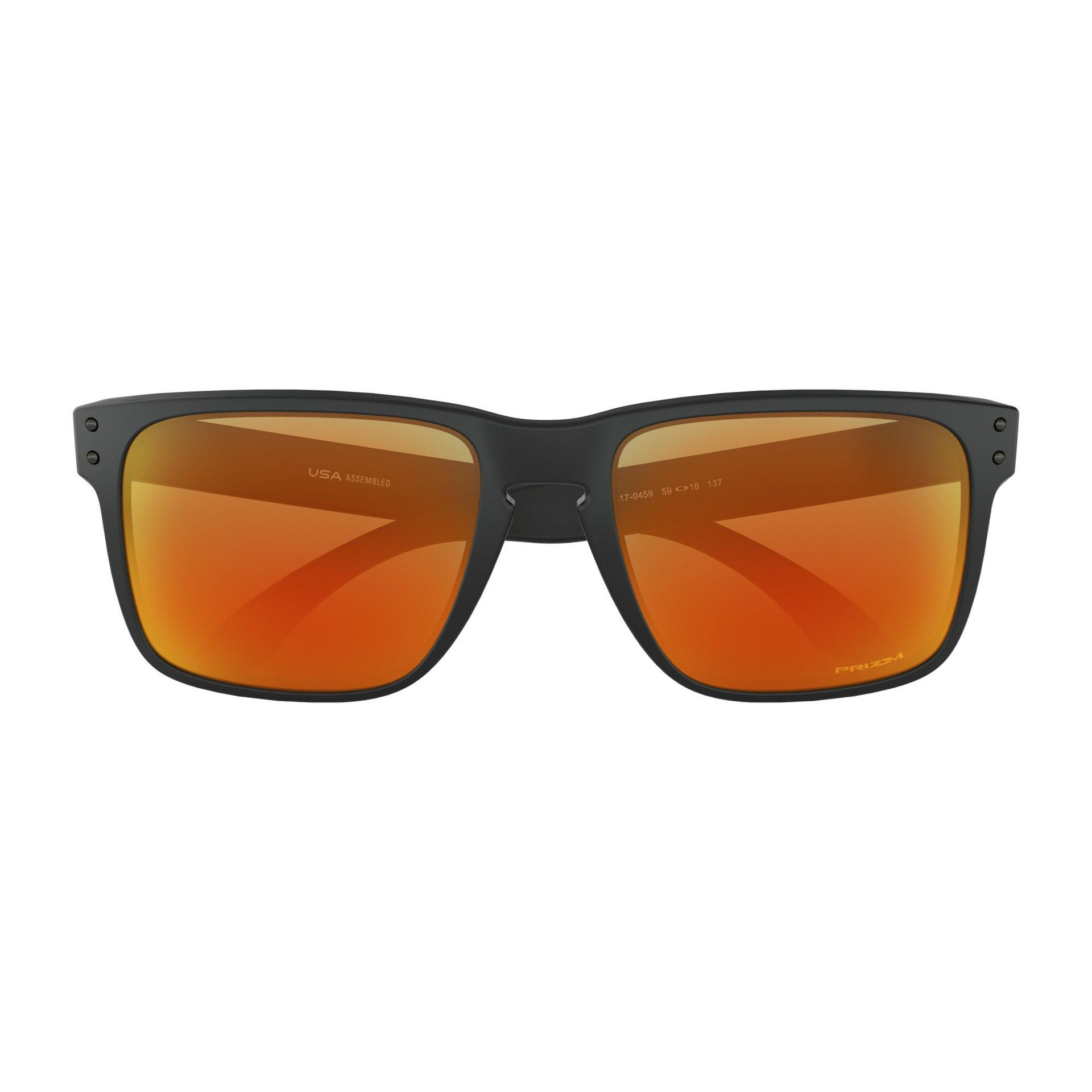 OKULARY OAKLEY HOLBROOK XL MATTE BLACK PRIZM RUBY 5