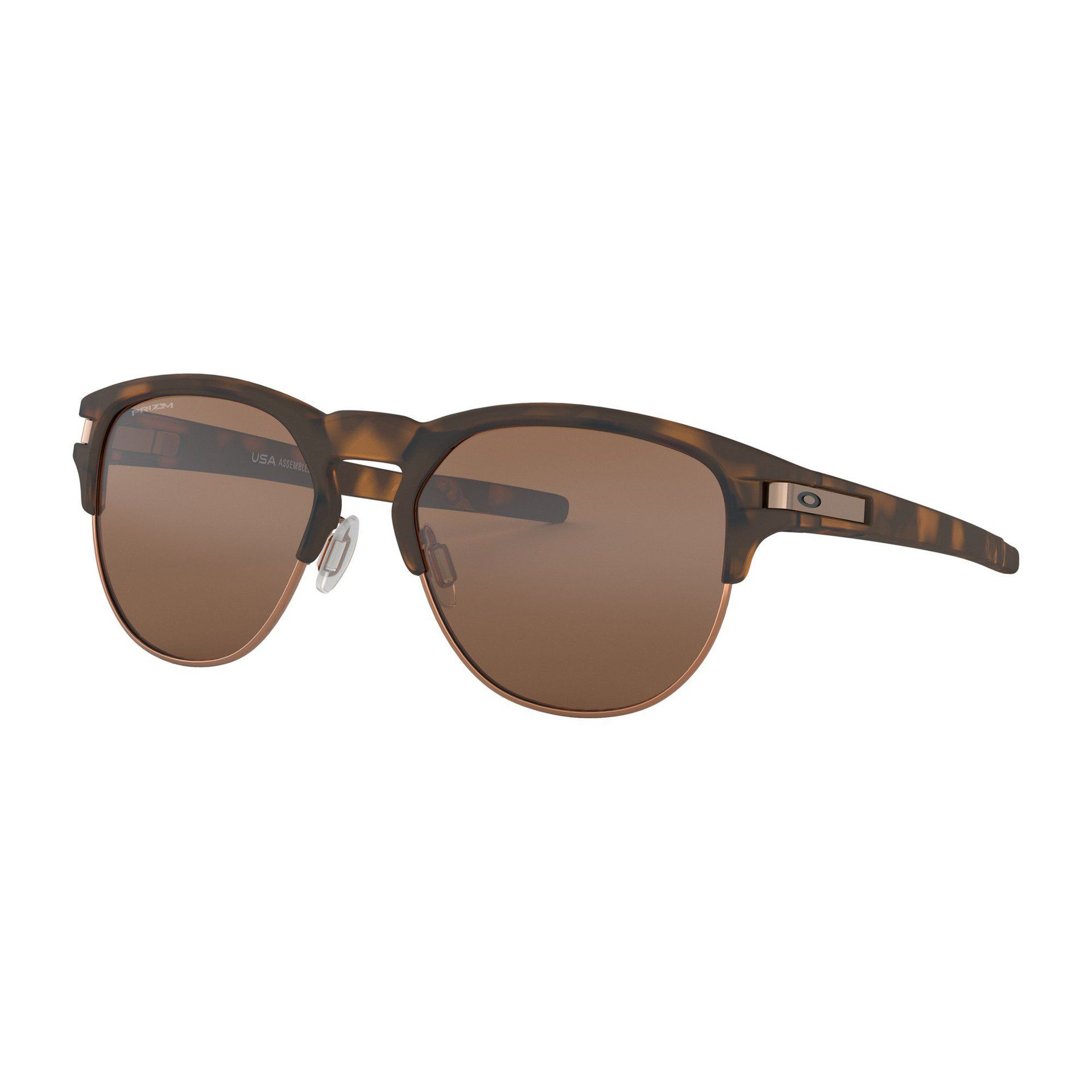 OKULARY OAKLEY LATCH KEY L MATTE BROWN TORTOISE|PRIZM TUNGSTEN