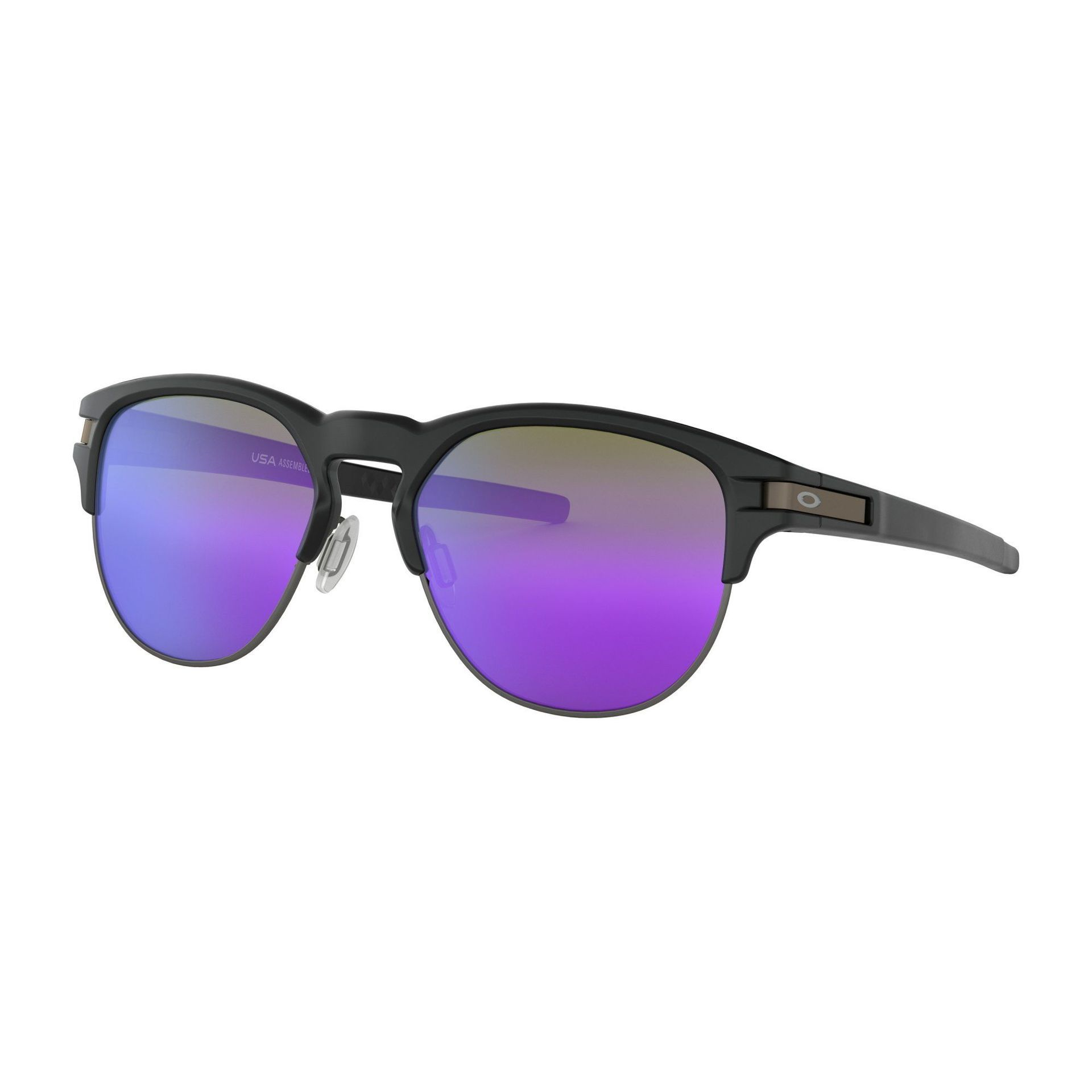 OKULARY OAKLEY LATCH KEY MATTE BLACK|VIOLET IRIDIUM 1