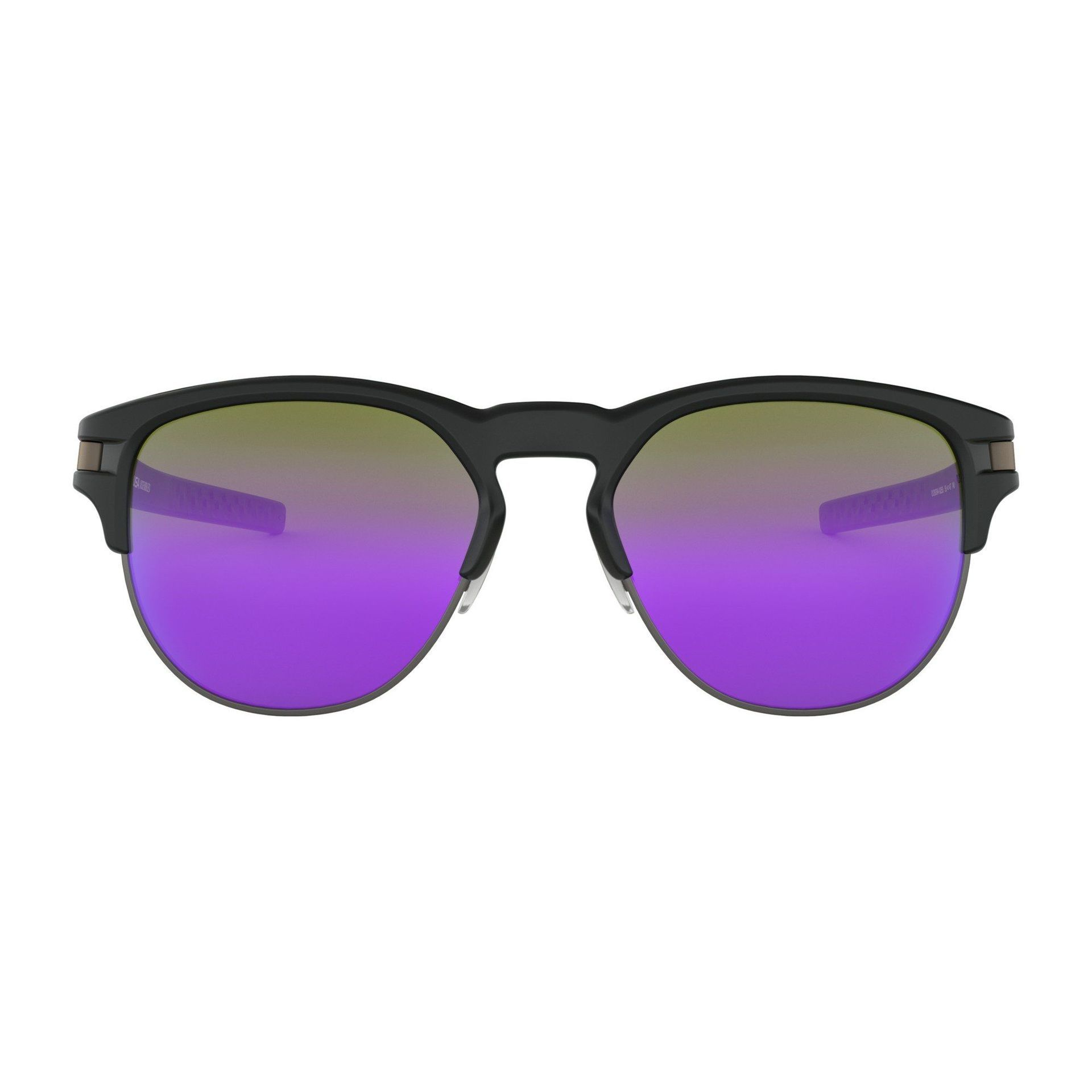 OKULARY OAKLEY LATCH KEY MATTE BLACK|VIOLET IRIDIUM 2