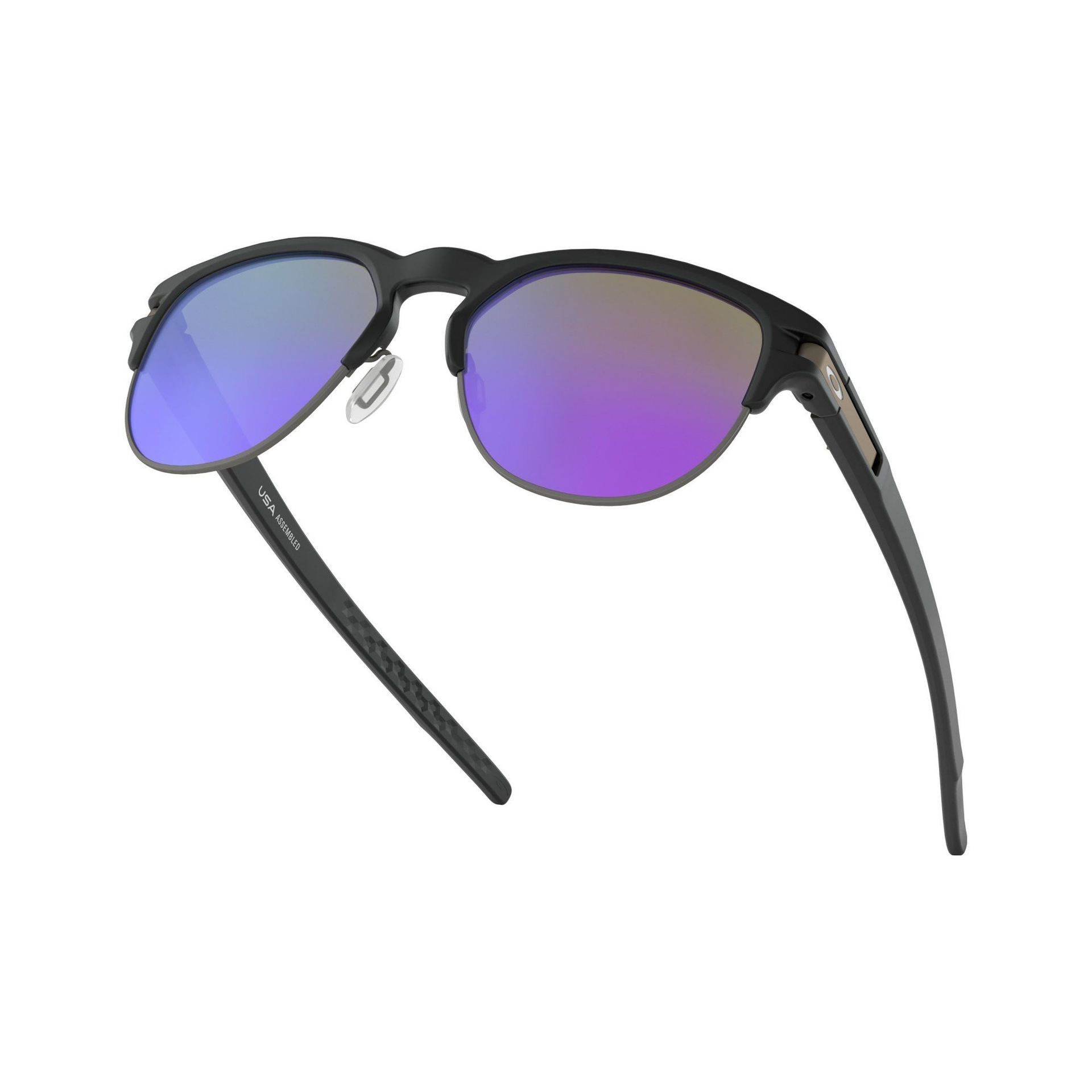OKULARY OAKLEY LATCH KEY MATTE BLACK|VIOLET IRIDIUM 5