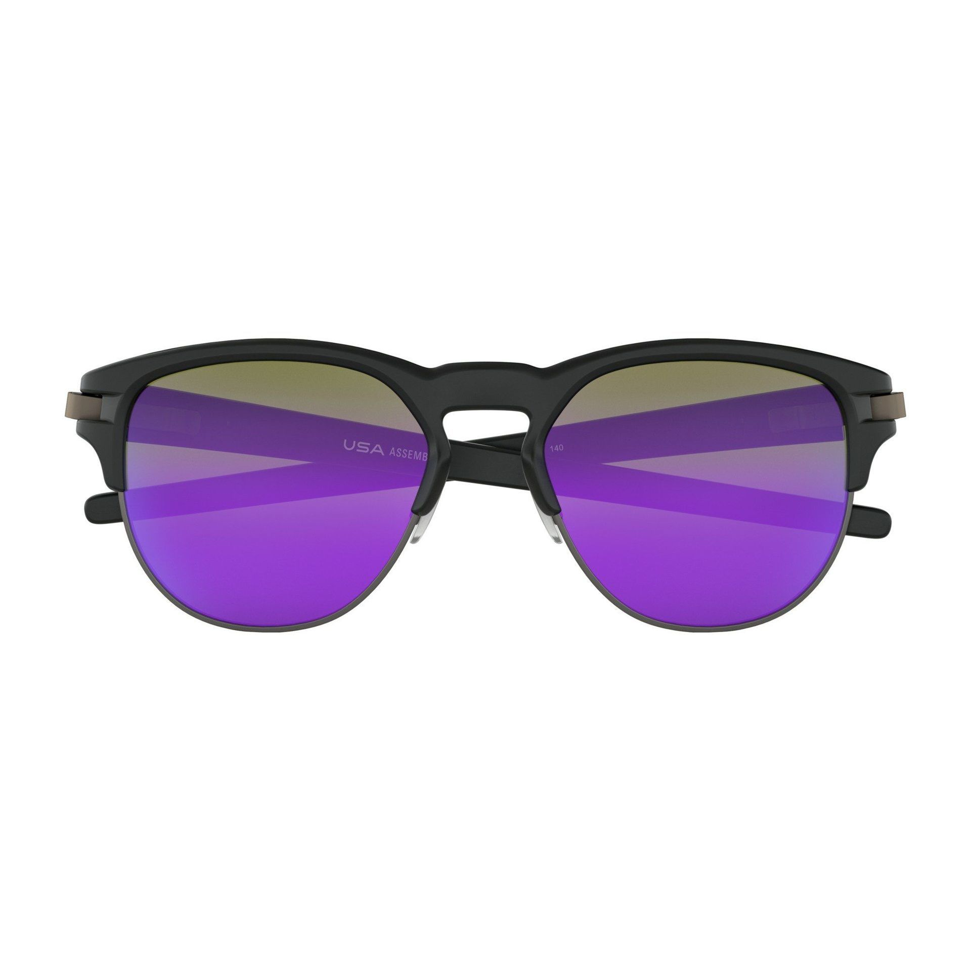 OKULARY OAKLEY LATCH KEY MATTE BLACK|VIOLET IRIDIUM 6